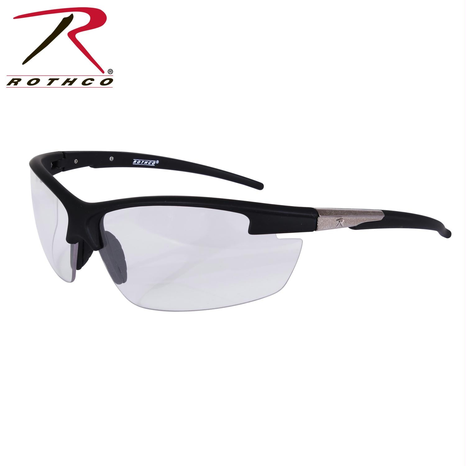 Rothco AR-7 Sport Glasses - Black / Clear