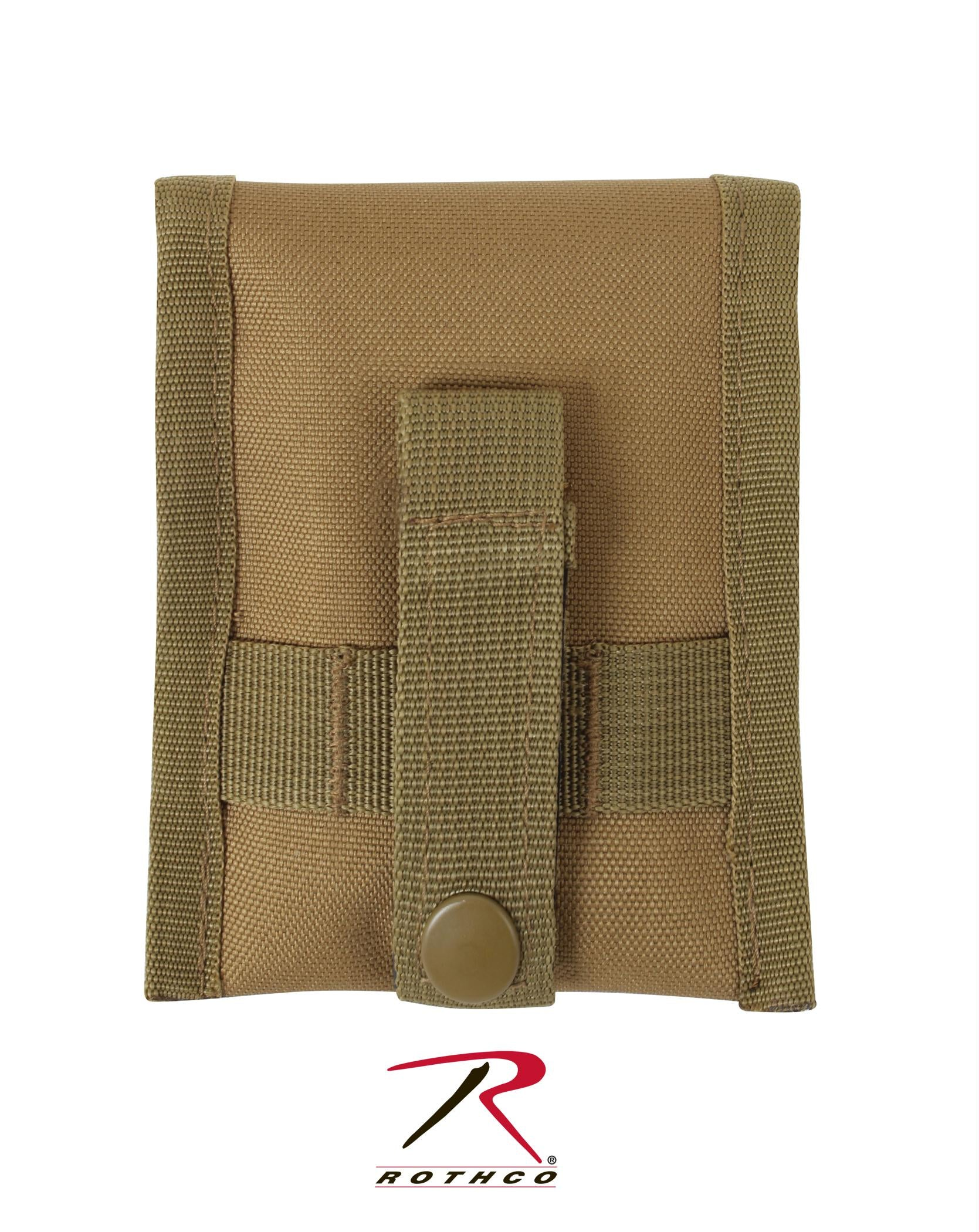 Rothco MOLLE Compatible Compass Pouch - Coyote Brown