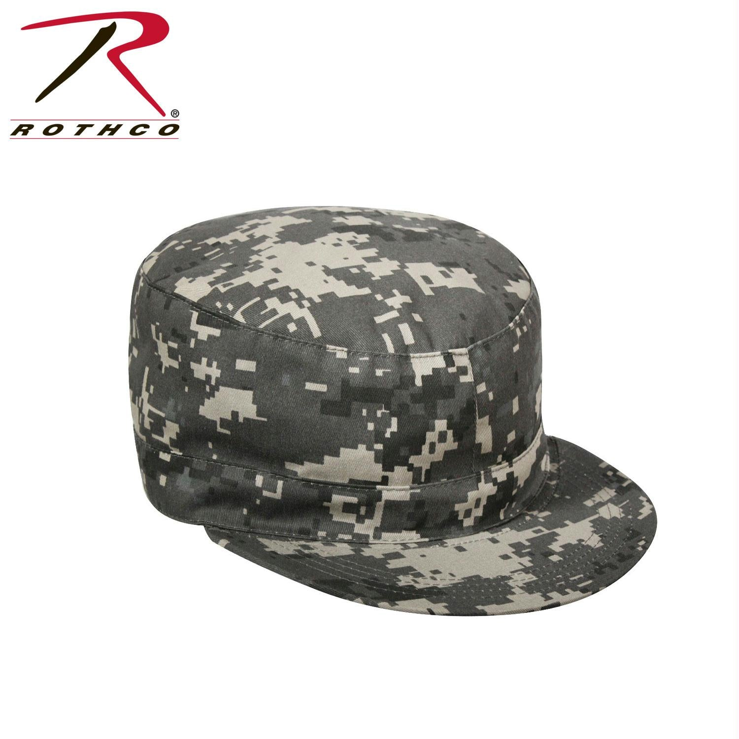 Rothco Camo Fatigue Caps - Subdued Urban Digital Camo / L