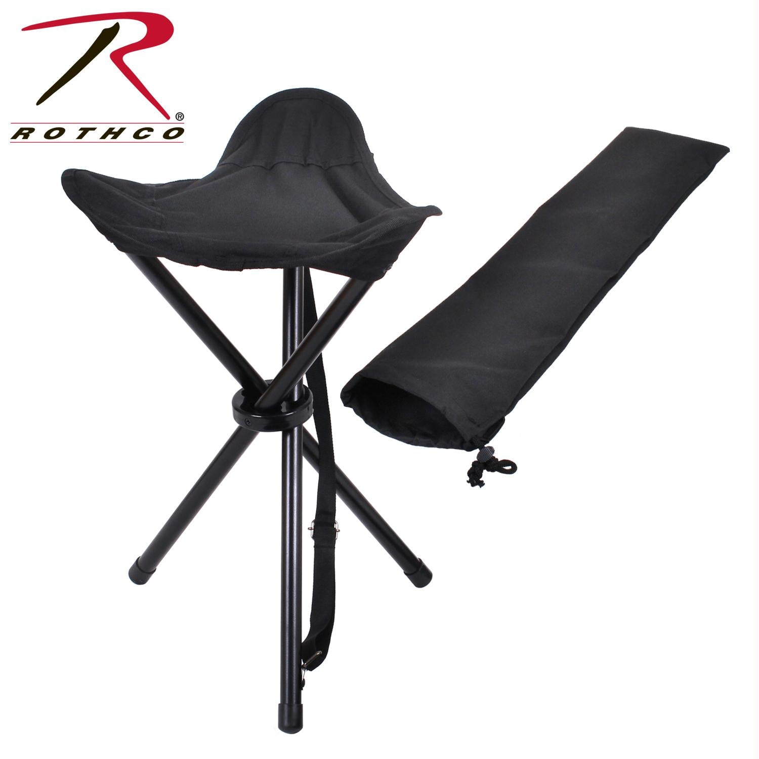 Rothco Collapsible Stool With Carry Strap
