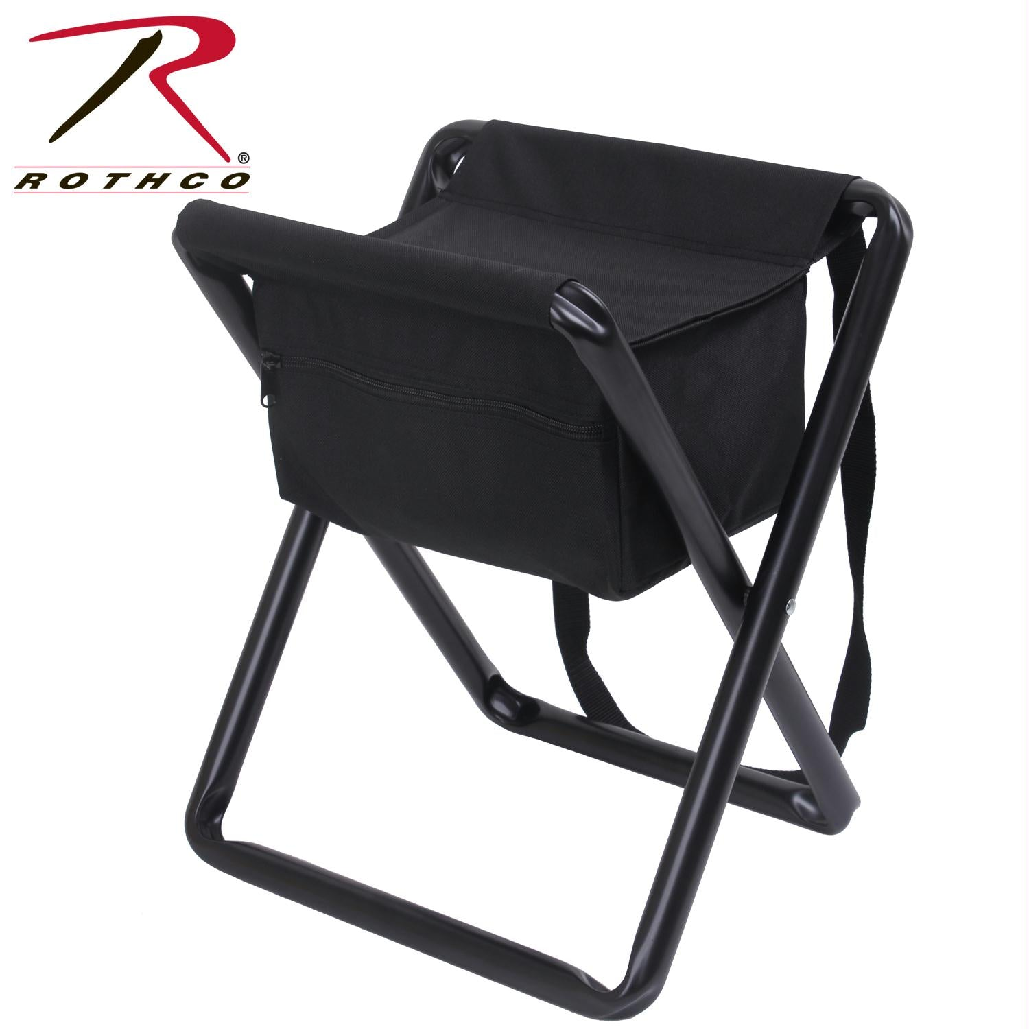 Rothco Deluxe Stool With Pouch - Black