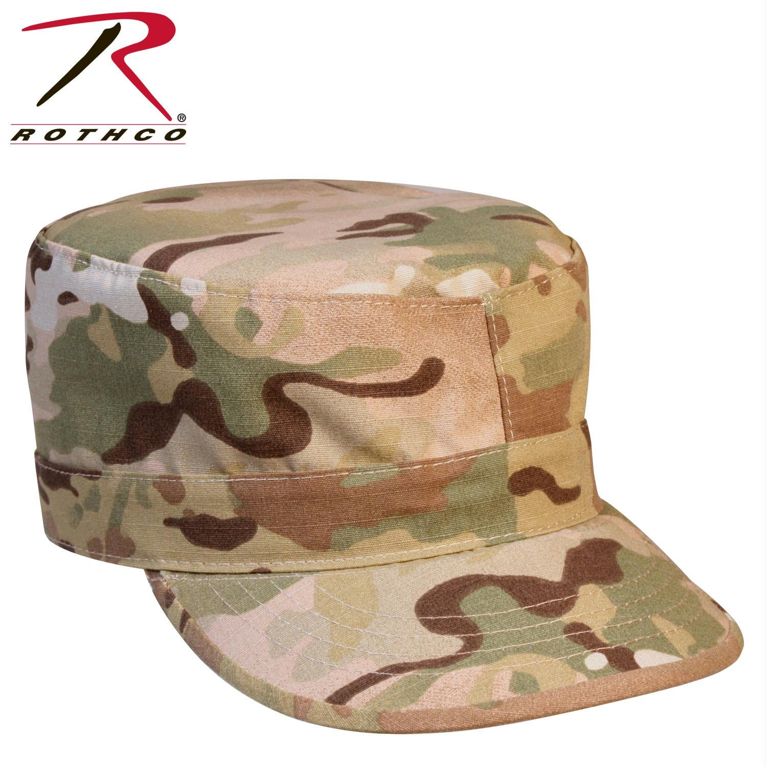 Rothco Multicam Rip-Stop Fatigue Cap - MultiCam / XS