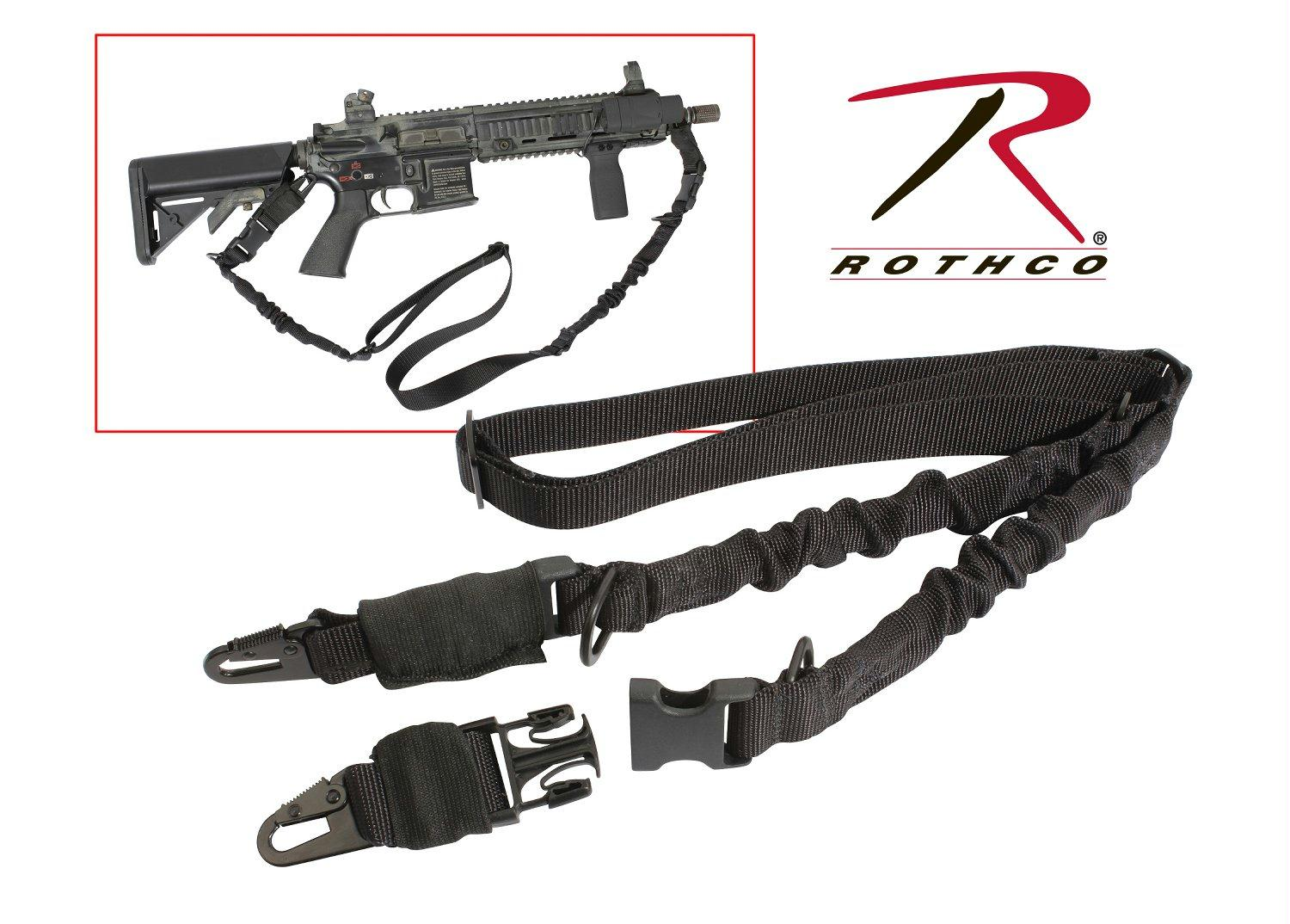 Rothco 2-Point Tactical Sling - Black