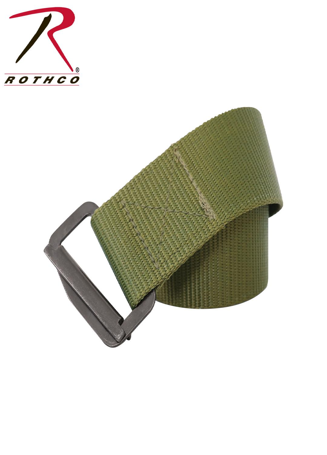 Rothco Heavy Duty Rigger's Belt - Olive Drab / 47 Inches