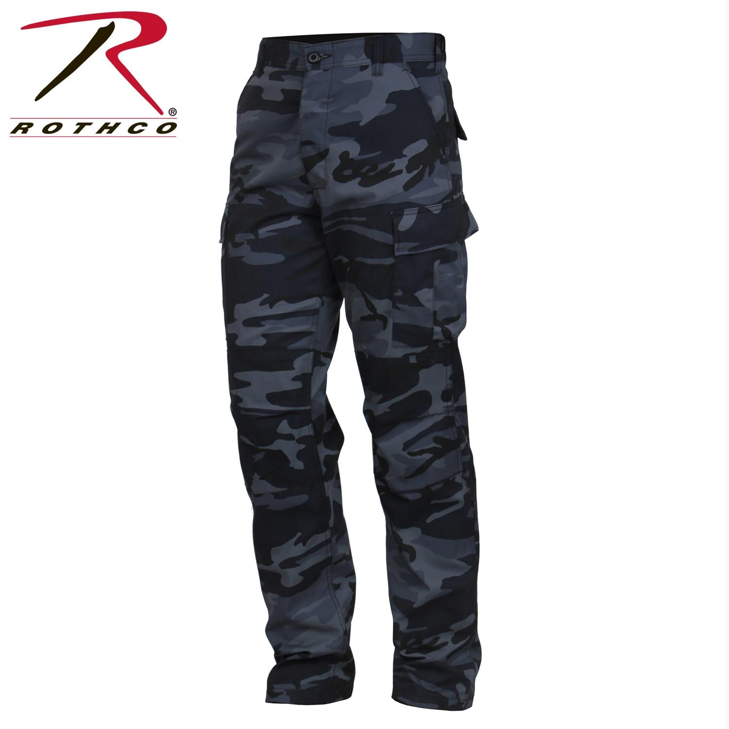 Rothco Color Camo Tactical BDU Pant - Midnight Blue Camo / 2XL