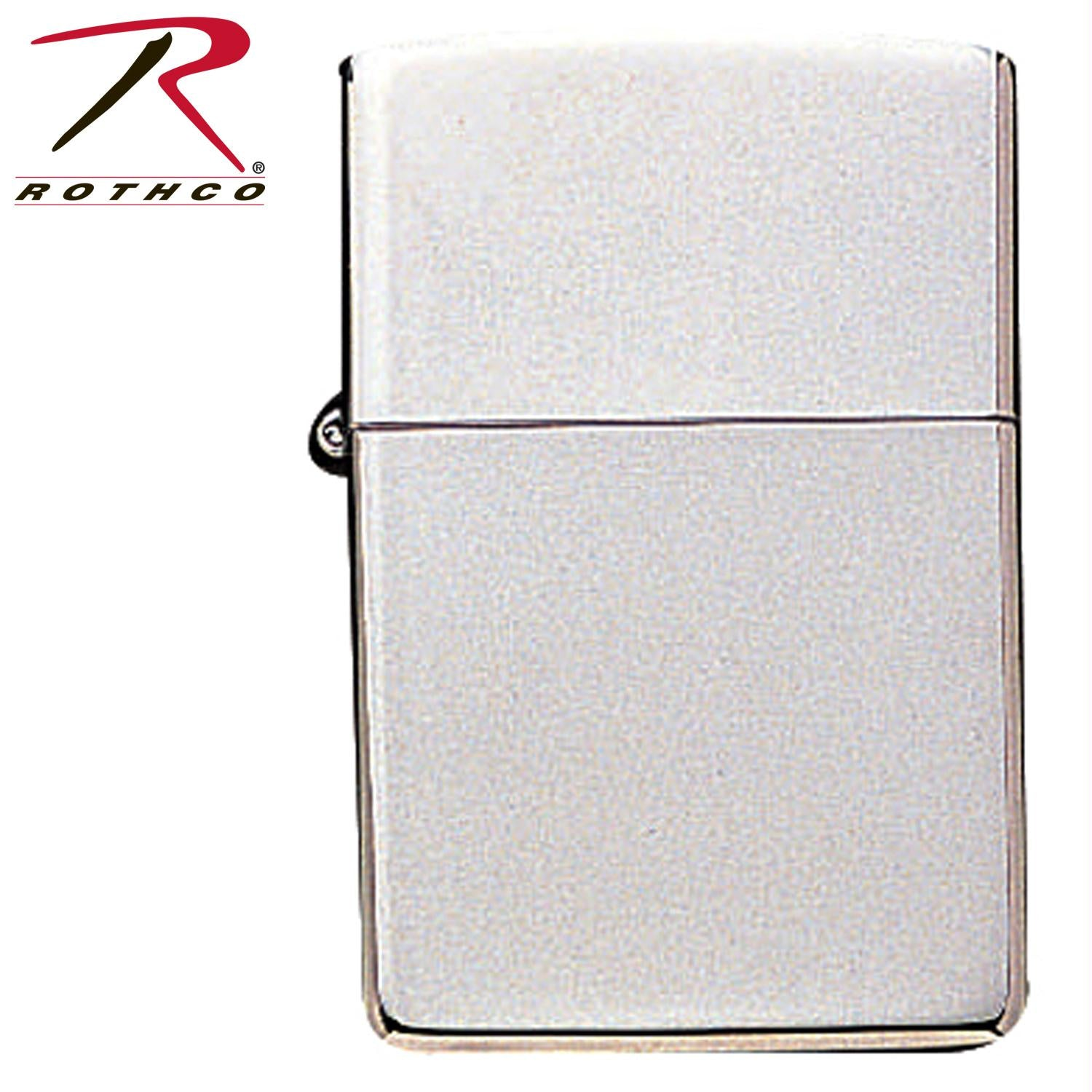 Zippo High Polish Chrome Lighter - Chrome