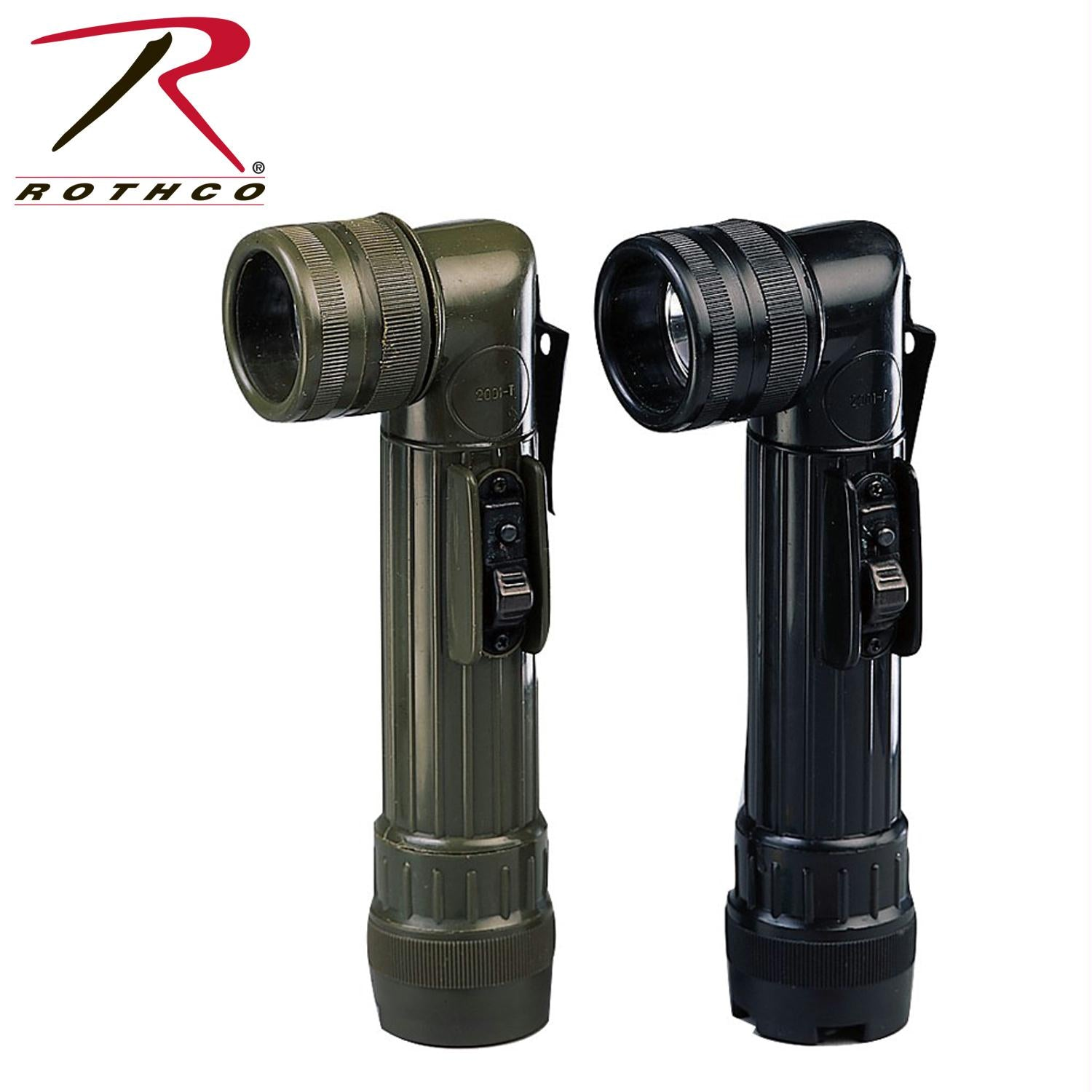 Rothco Army Style C-Cell Flashlights - Black