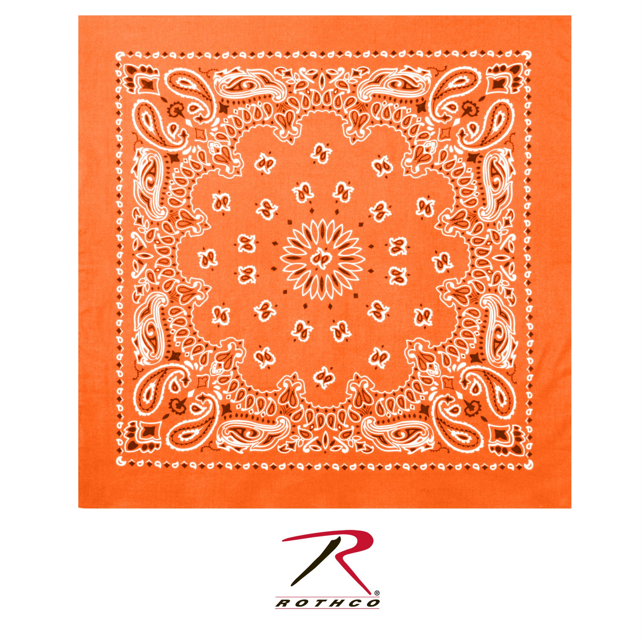 Rothco Trainmen Bandana - Orange