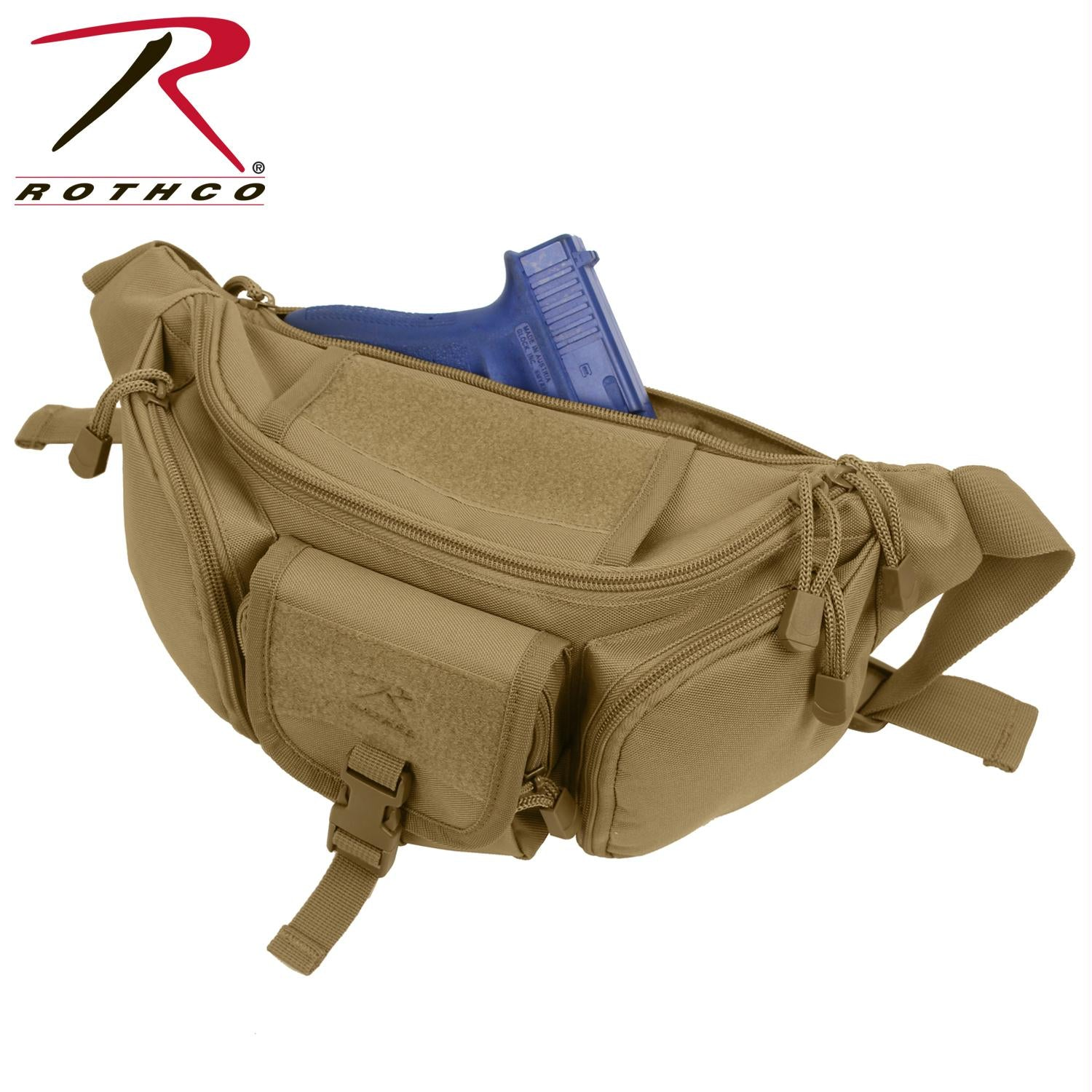 Rothco Tactical Waist Pack - Coyote Brown