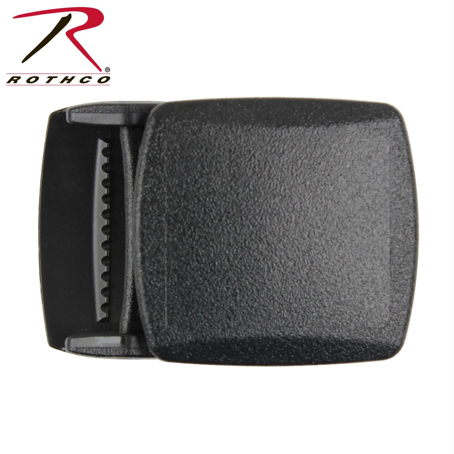 Rothco Plastic Web Belt Buckle - Black / One Size