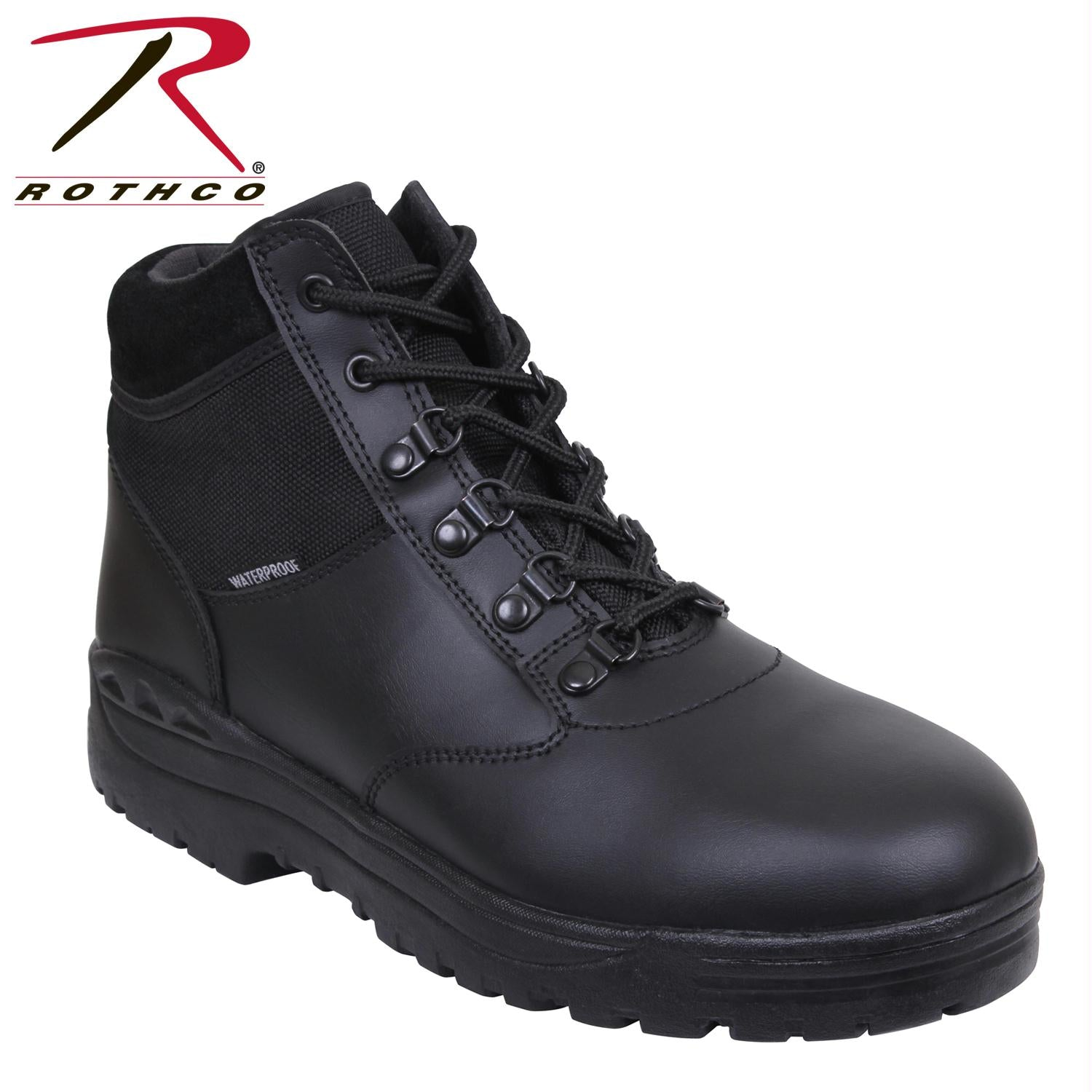 Rothco Forced Entry Tactical Waterproof Boot - Black / 7.5