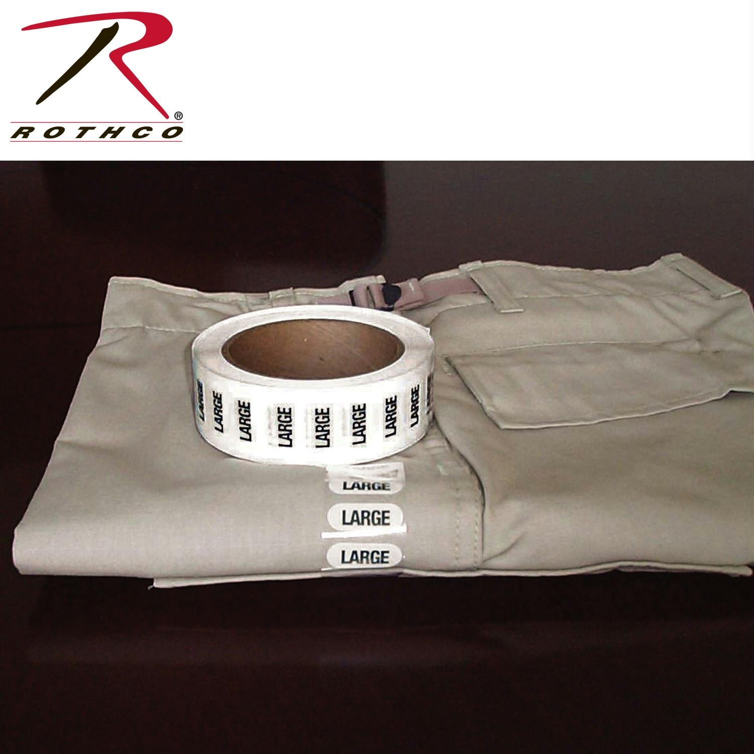 Rothco Size Strips