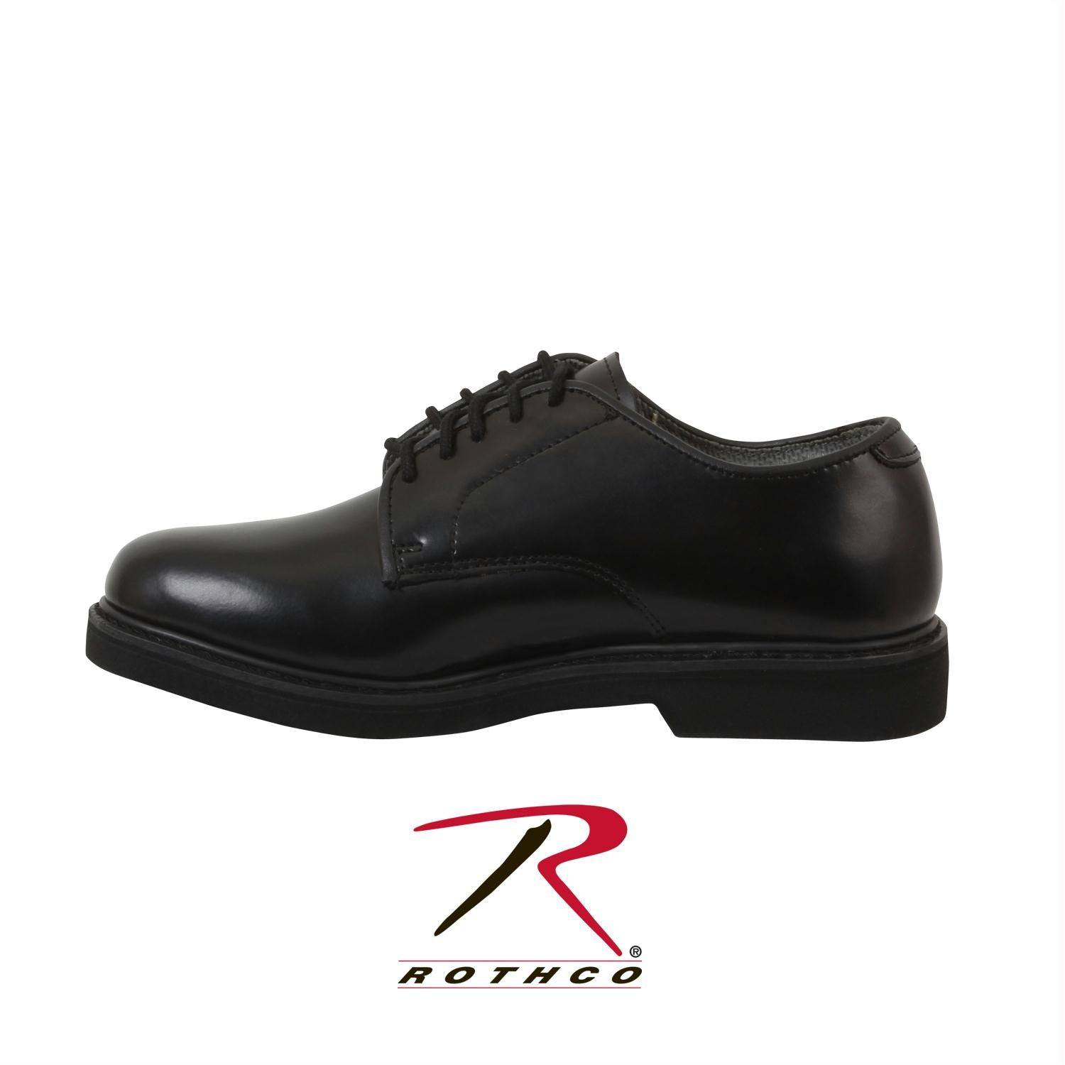 Rothco Military Uniform Oxford Leather Shoes - 7.5 / Wide