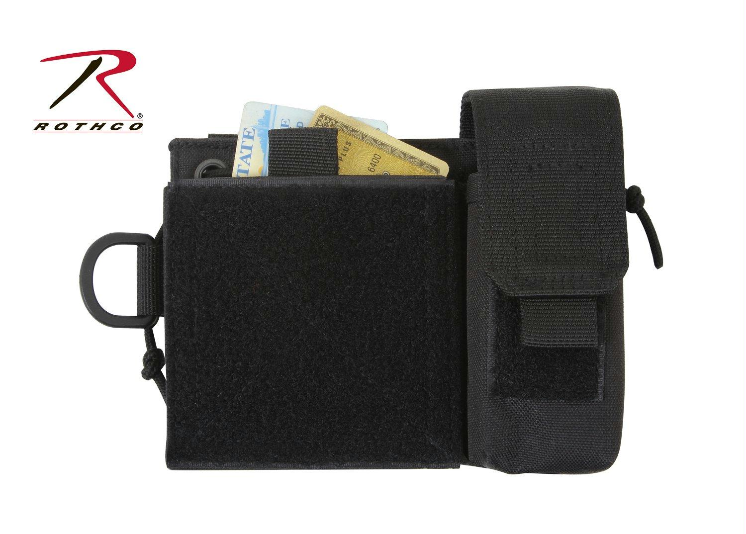 Rothco MOLLE Administrative Pouch - Black