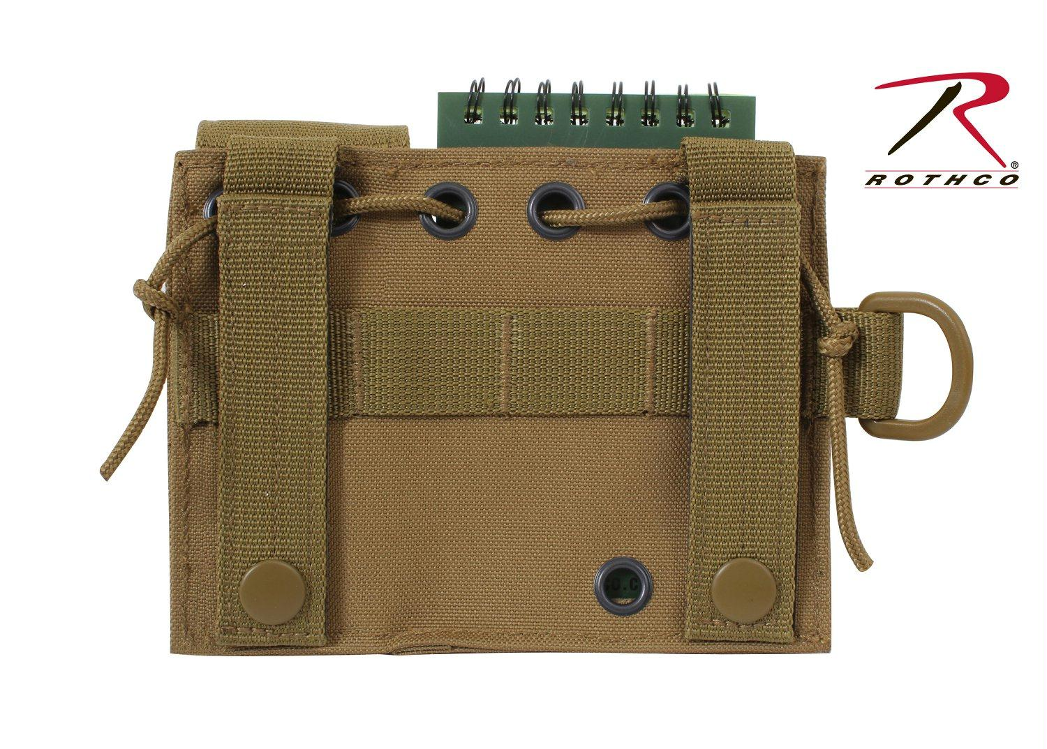 Rothco MOLLE Administrative Pouch - Coyote Brown