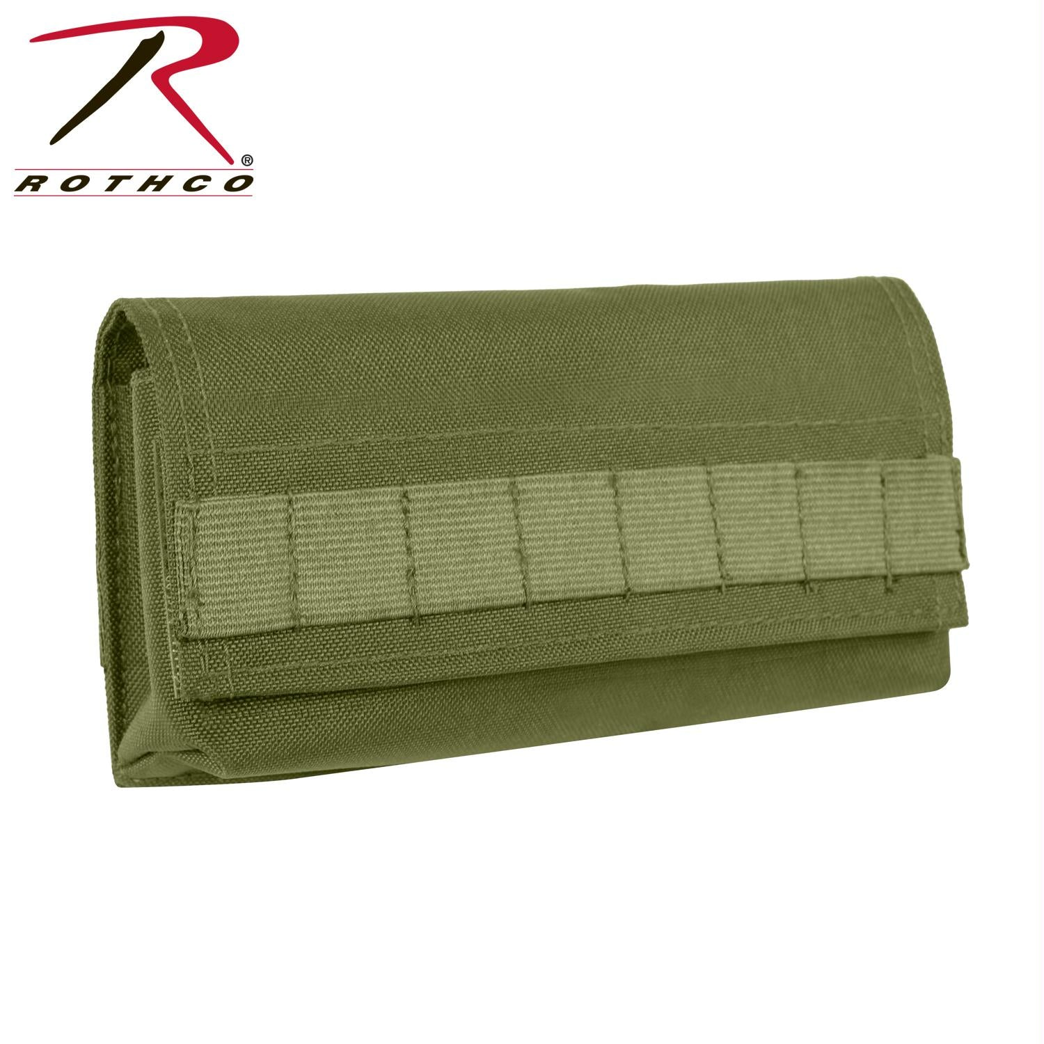 Rothco 18 Round Shotgun/Airsoft Ammo Pouch - Olive Drab