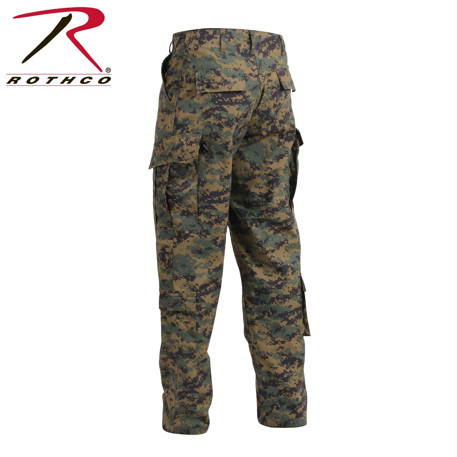 Tactical ACU Pants Rip-Stop Army Combat Uniform Fatigues