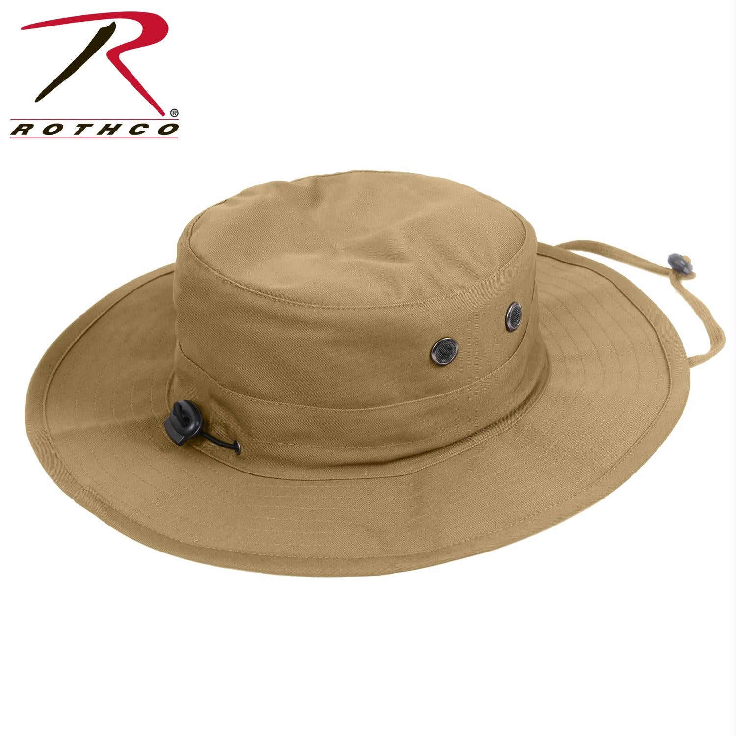 Rothco Adjustable Boonie Hat - Coyote Brown / One Size