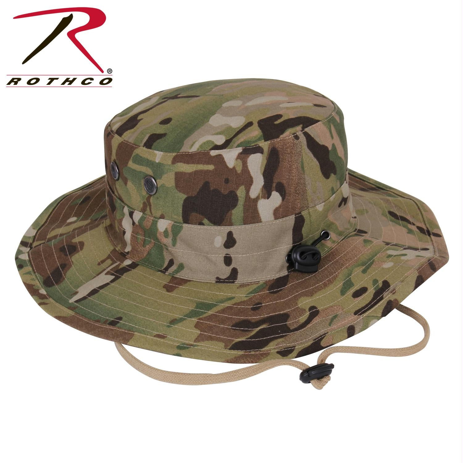 Rothco Adjustable Boonie Hat - MultiCam / One Size