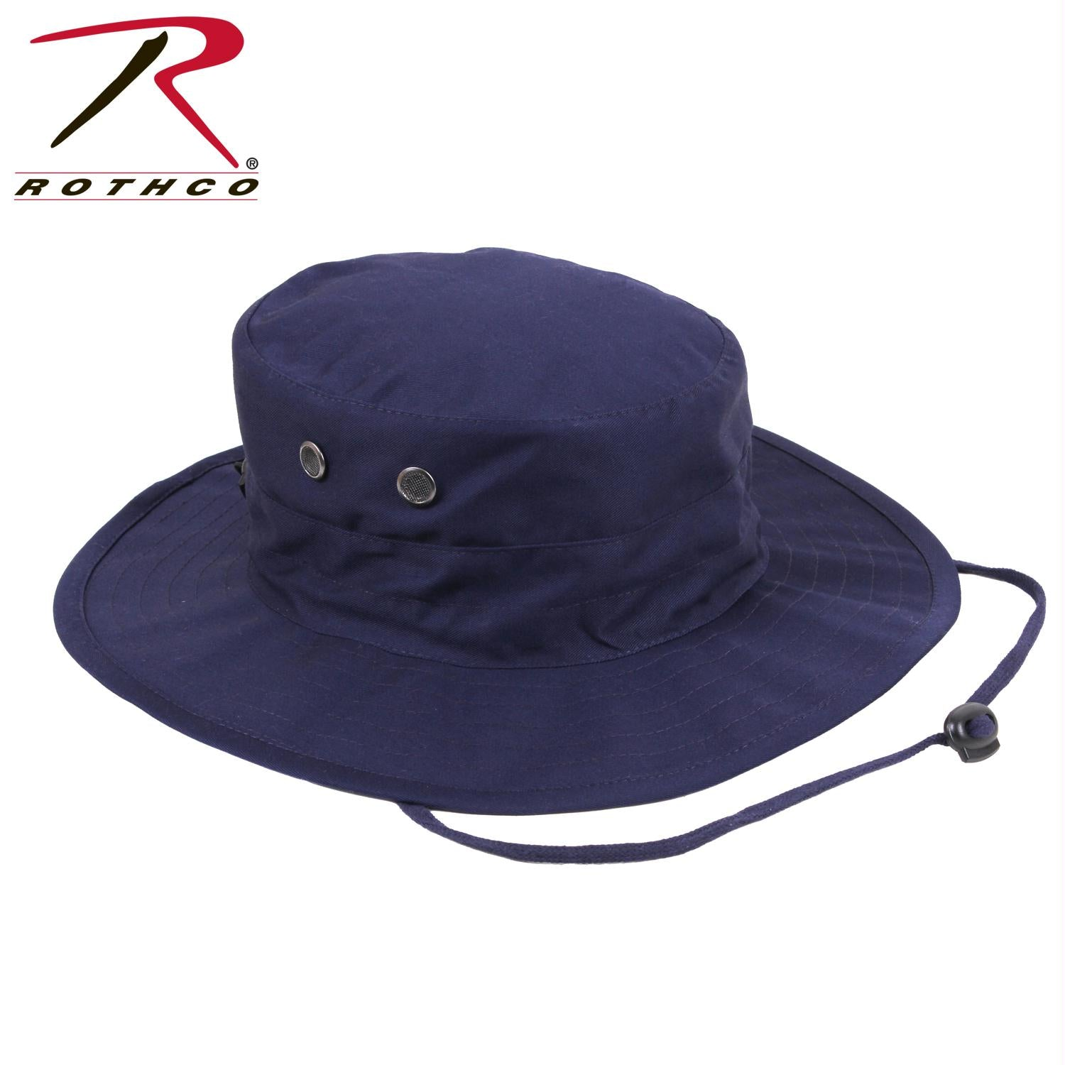 Rothco Adjustable Boonie Hat - Navy Blue / One Size