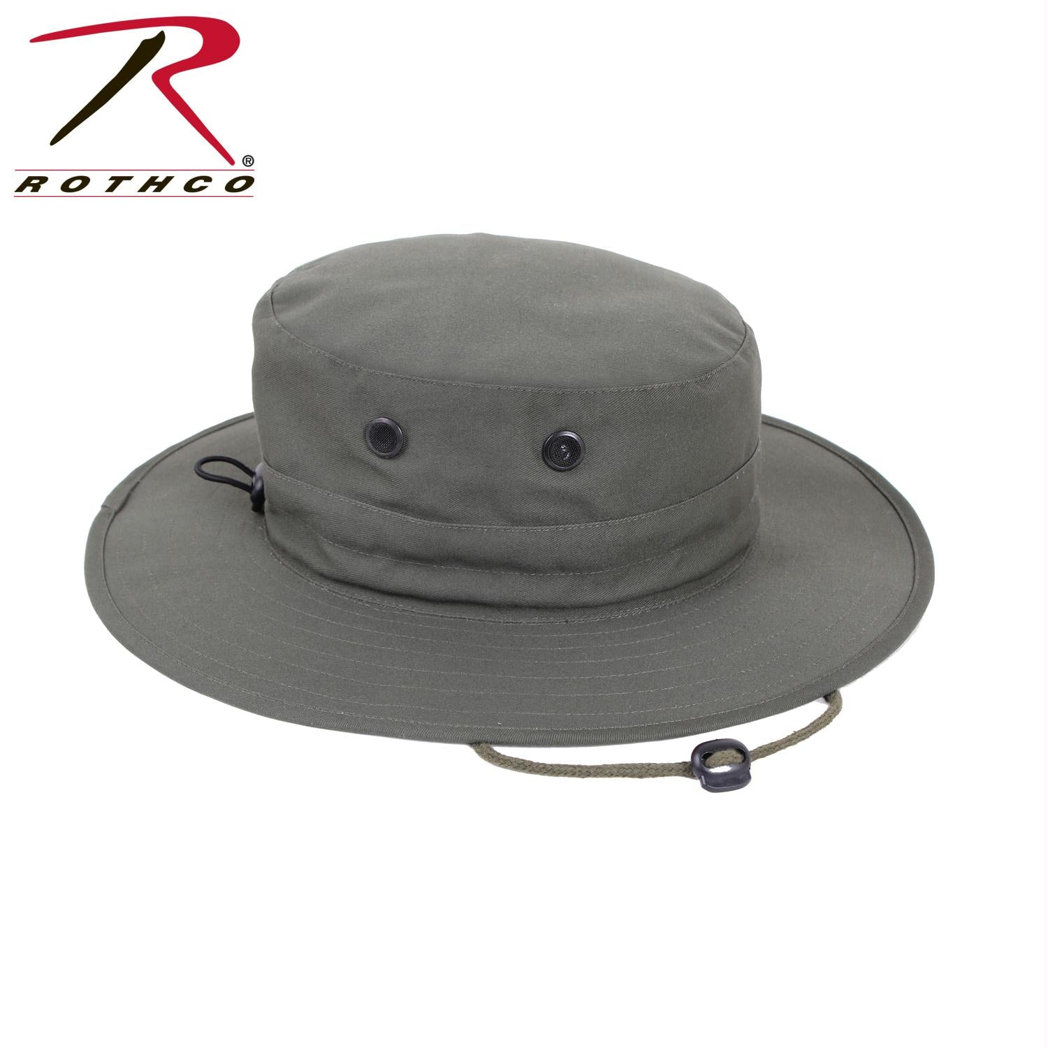 Rothco Adjustable Boonie Hat - Olive Drab / One Size