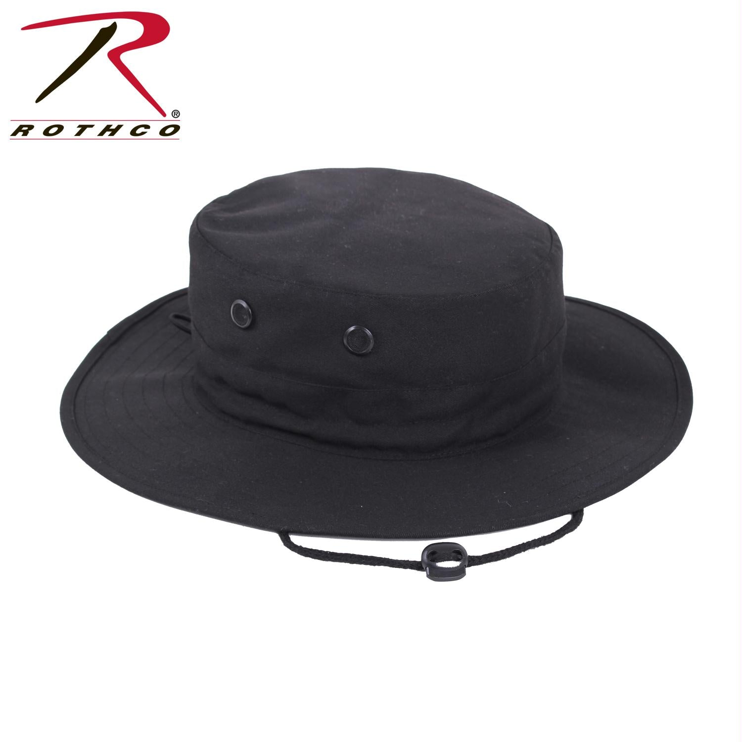 Rothco Adjustable Boonie Hat - Black / One Size