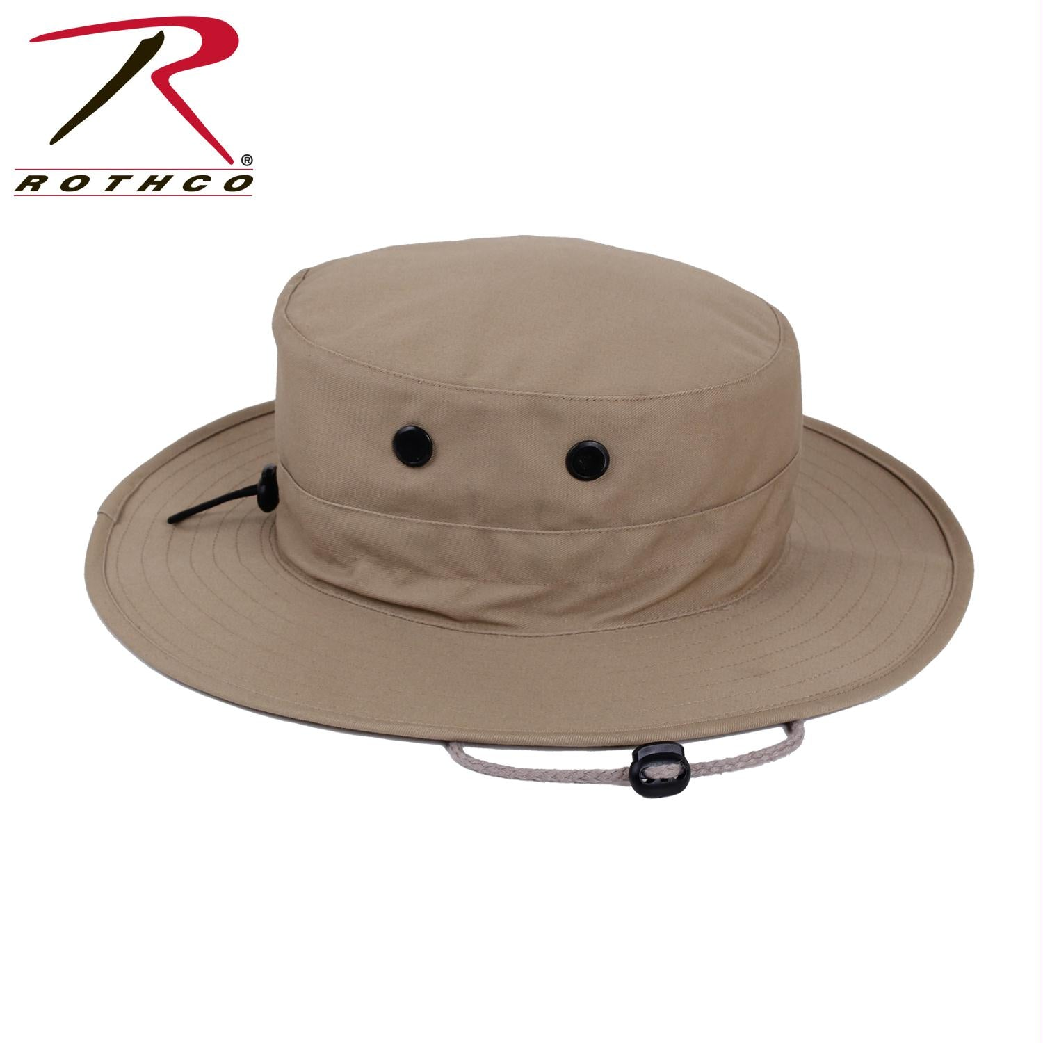 Rothco Adjustable Boonie Hat - Khaki / One Size