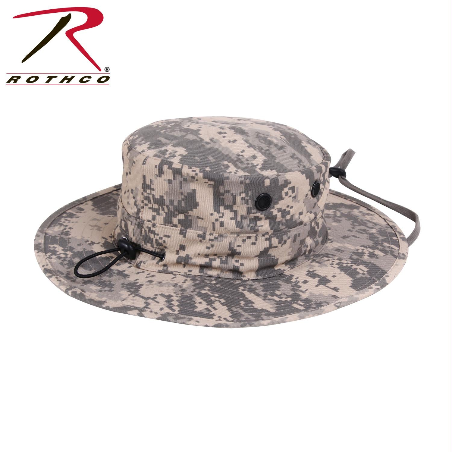 Rothco Adjustable Boonie Hat - ACU Digital Camo / One Size