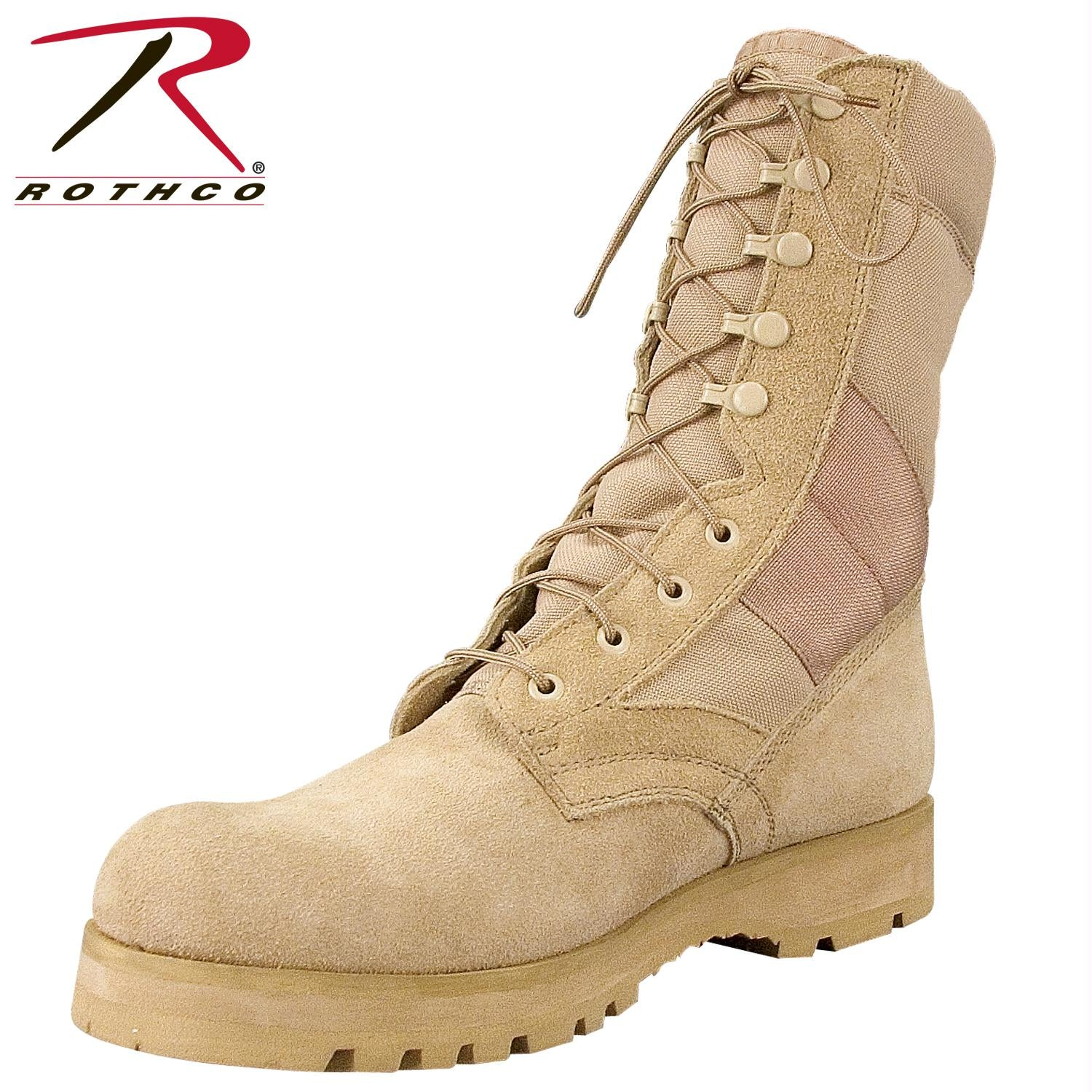 Rothco G.I. Type Sierra Sole Tactical Boots - Desert Tan / 13 / Wide