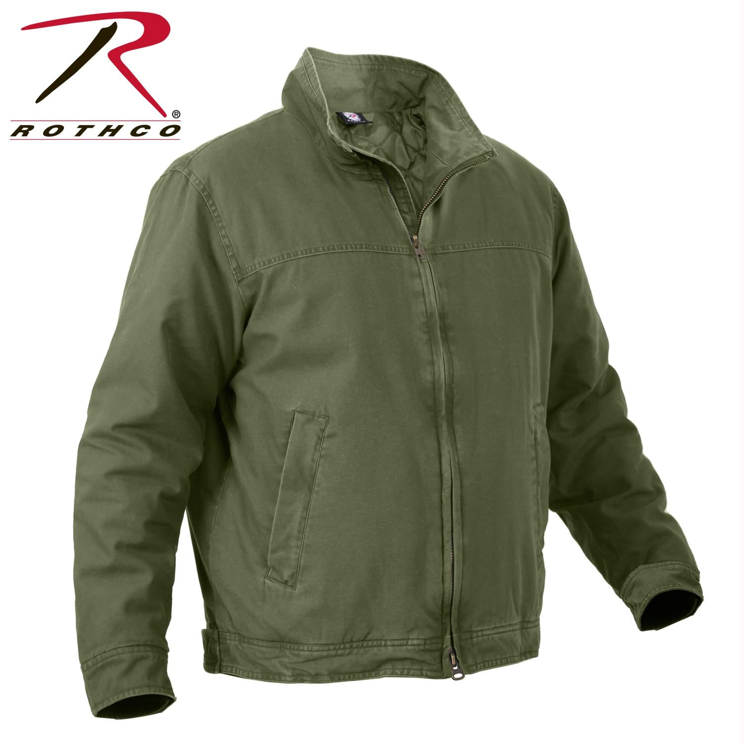 Rothco 3 Season Concealed Carry Jacket - Olive Drab / L