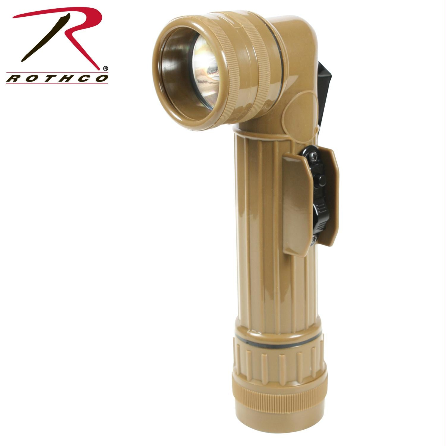 Rothco G.I. Type D-Cell Flashlights - Coyote Brown