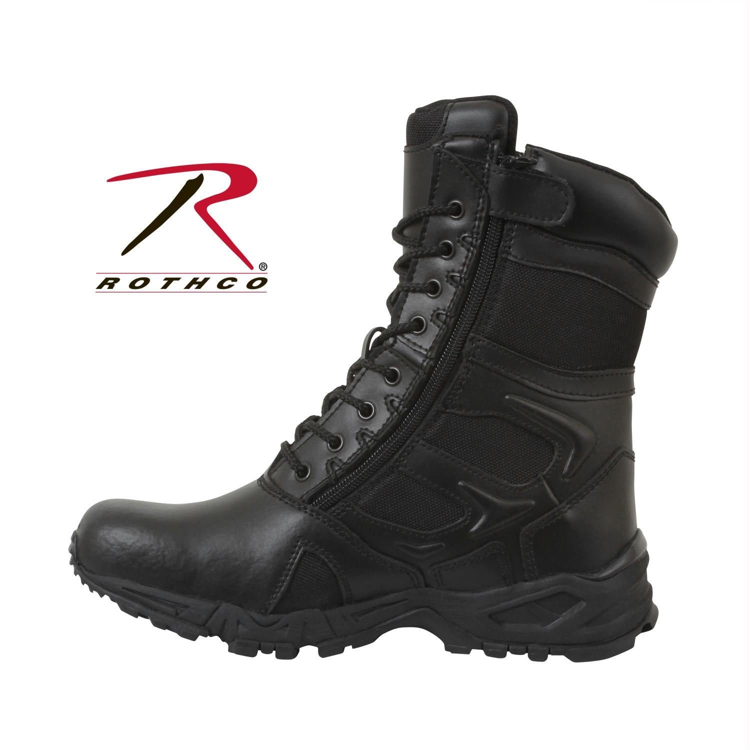 Rothco Forced Entry Deployment Boot With Side Zipper - 5 / Regular