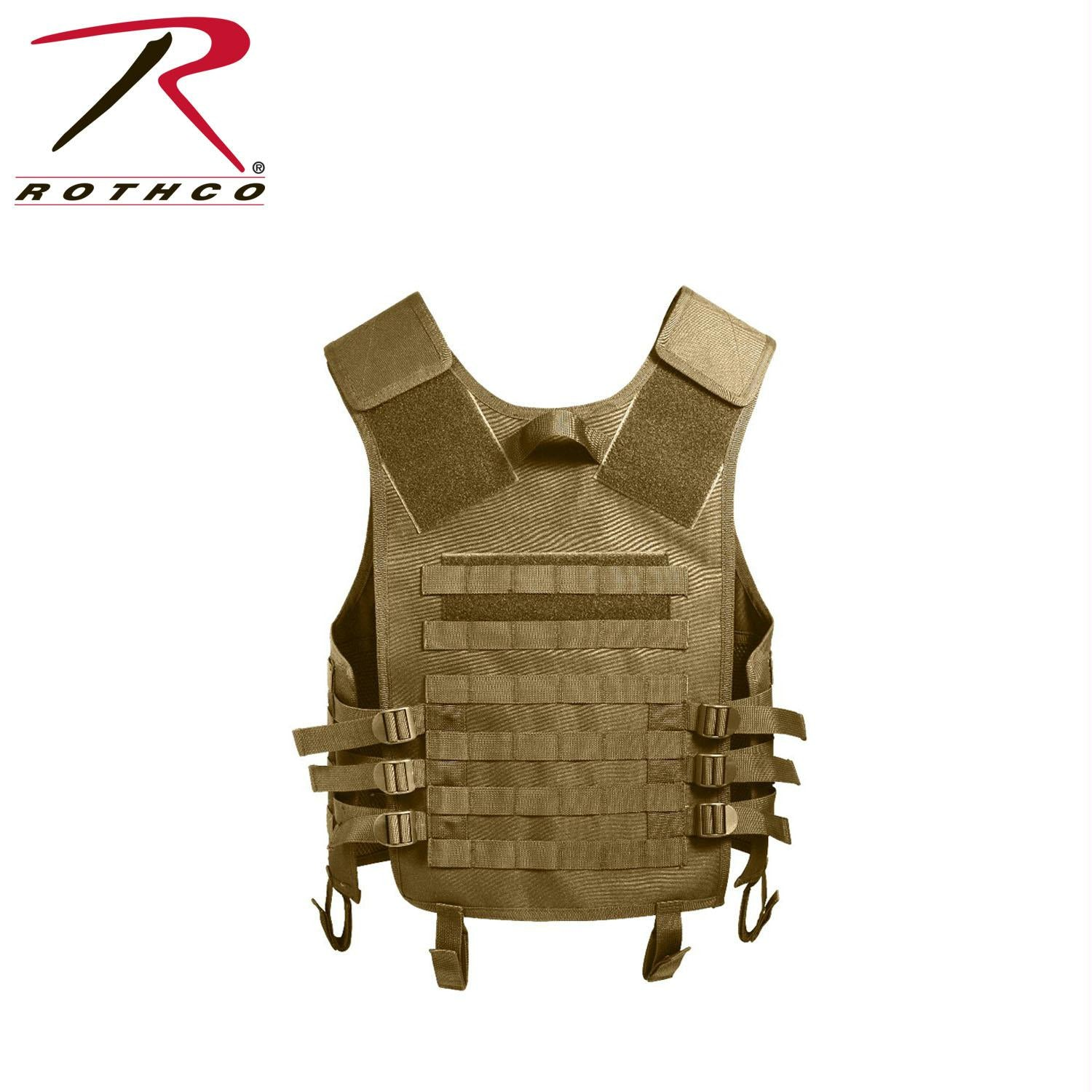 Rothco MOLLE Modular Vest - Coyote Brown