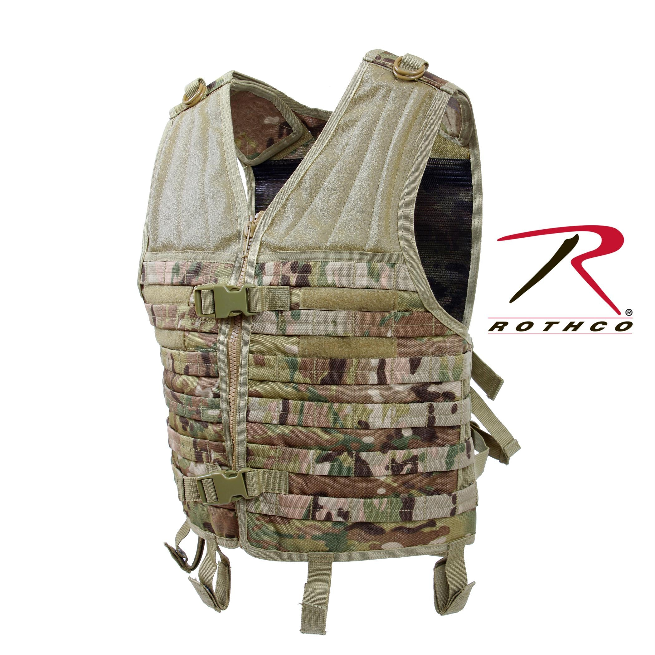Rothco MOLLE Modular Vest - MultiCam
