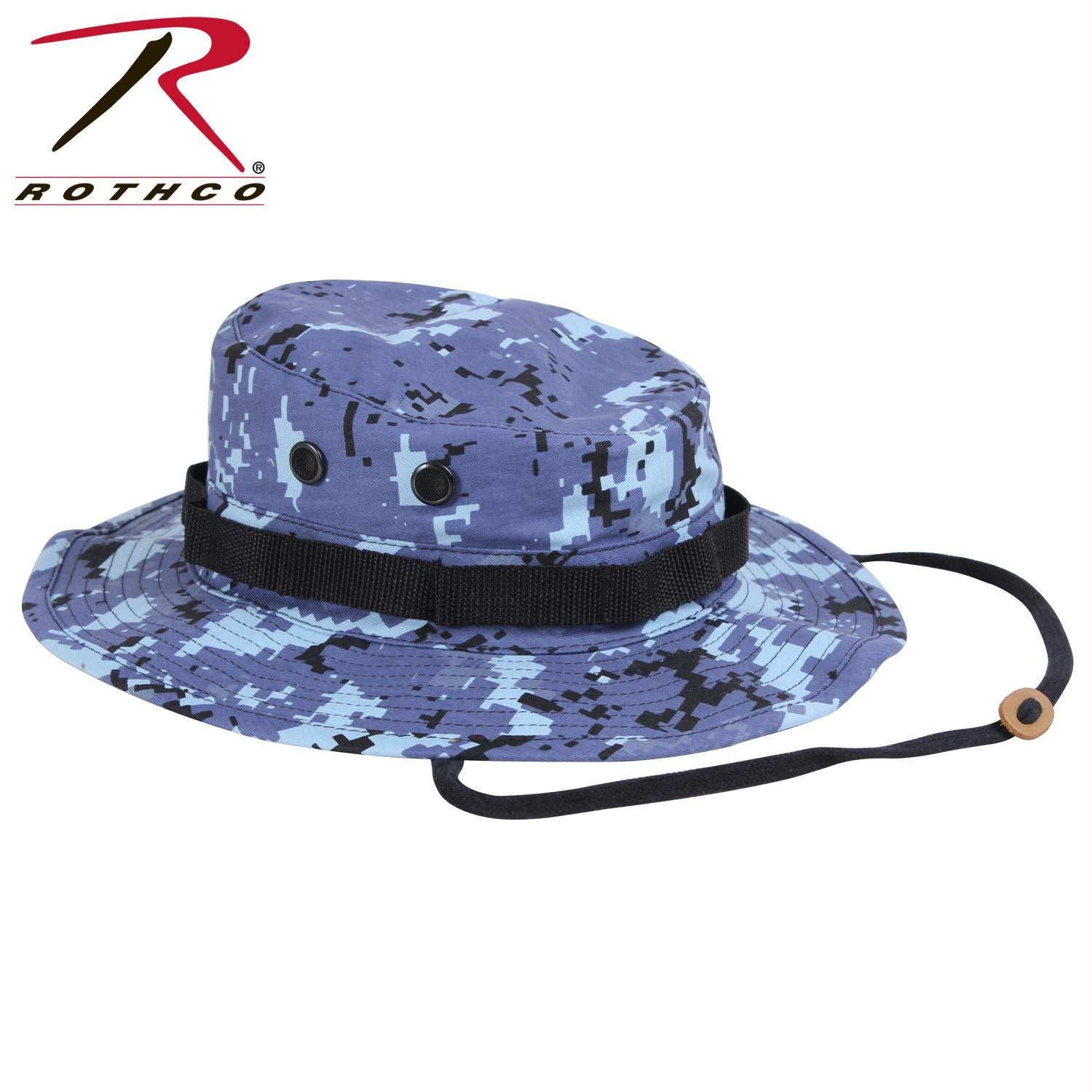 Rothco Digital Camo Boonie Hat - Sky Blue Digital Camo / 7 1/4