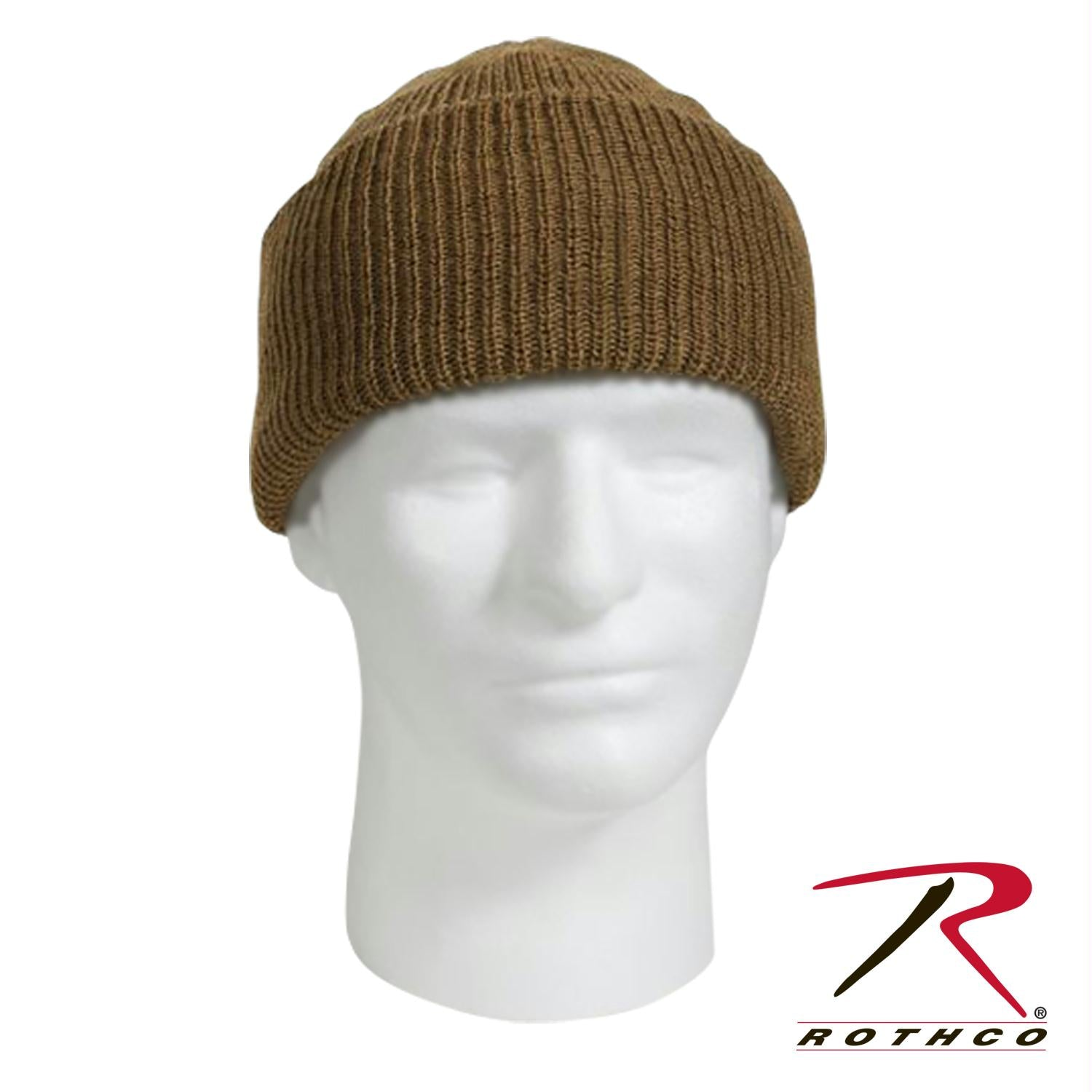 Genuine G.I. Wool Watch Cap - Coyote Brown