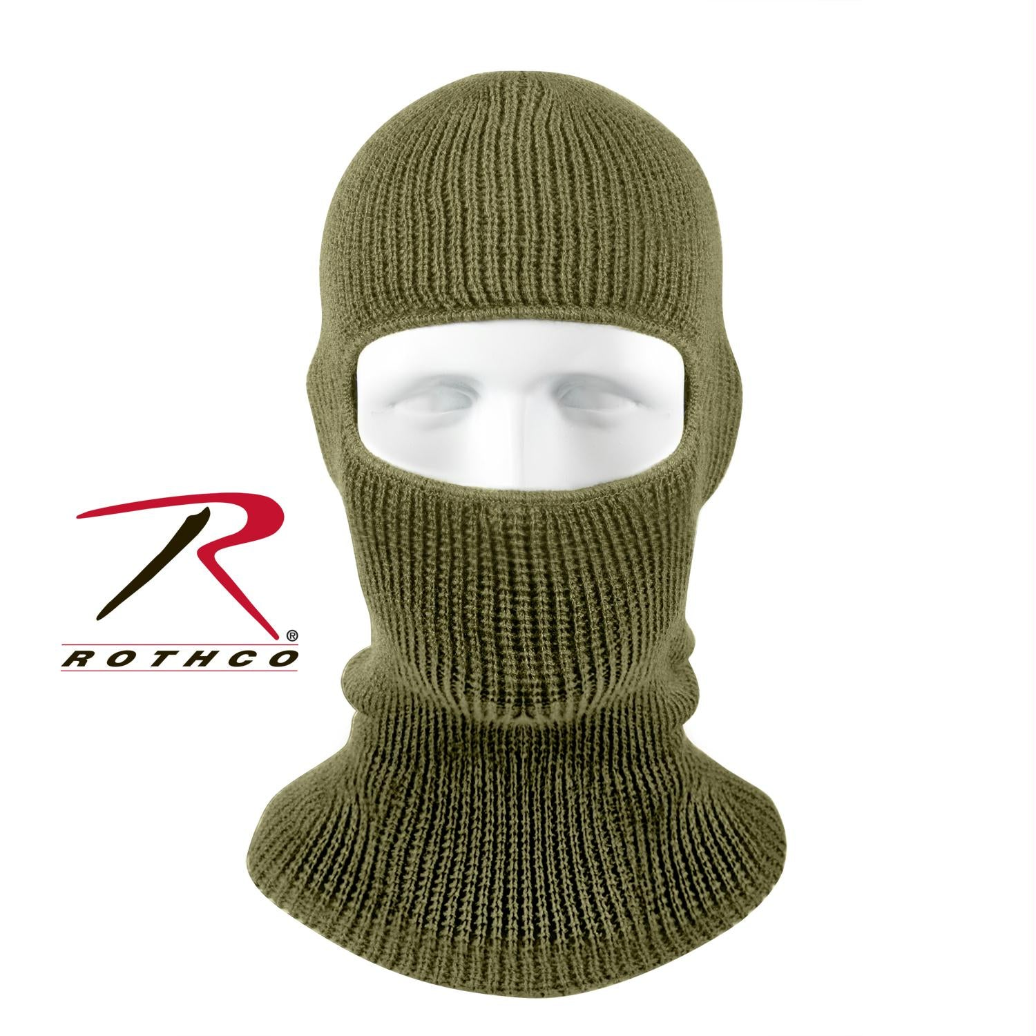 Rothco One-Hole Face Mask - Olive Drab
