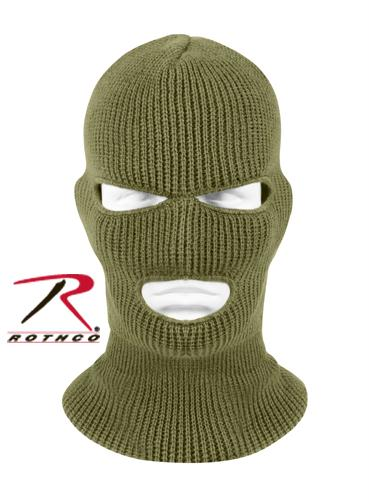 Rothco 3 Hole Face Mask - Olive Drab