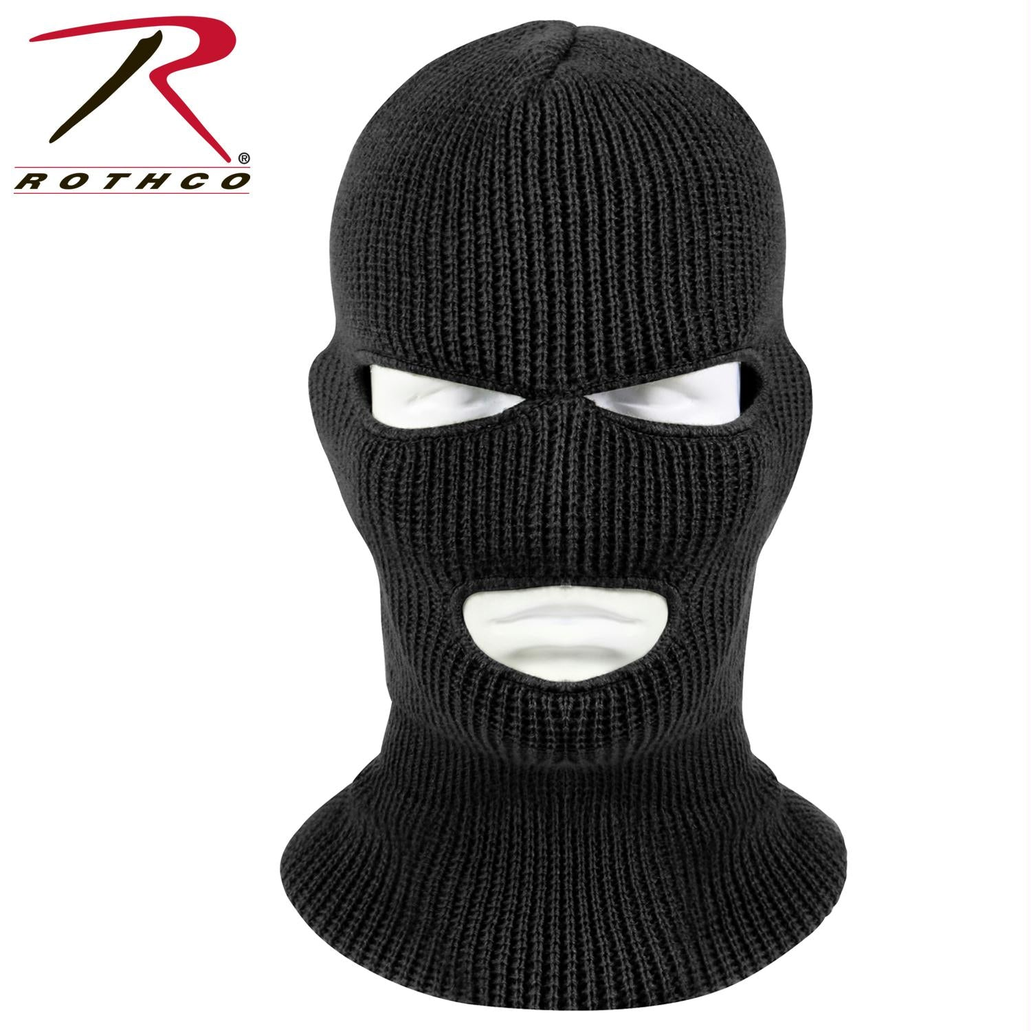 Rothco 3 Hole Face Mask - Black