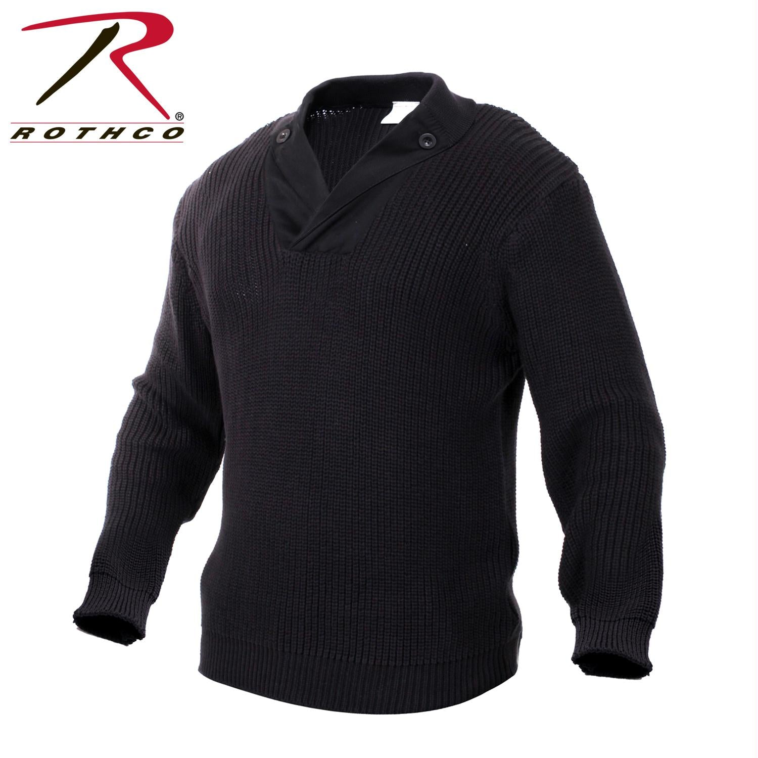 Rothco WWII Vintage Mechanics Sweater - Black / 2XL