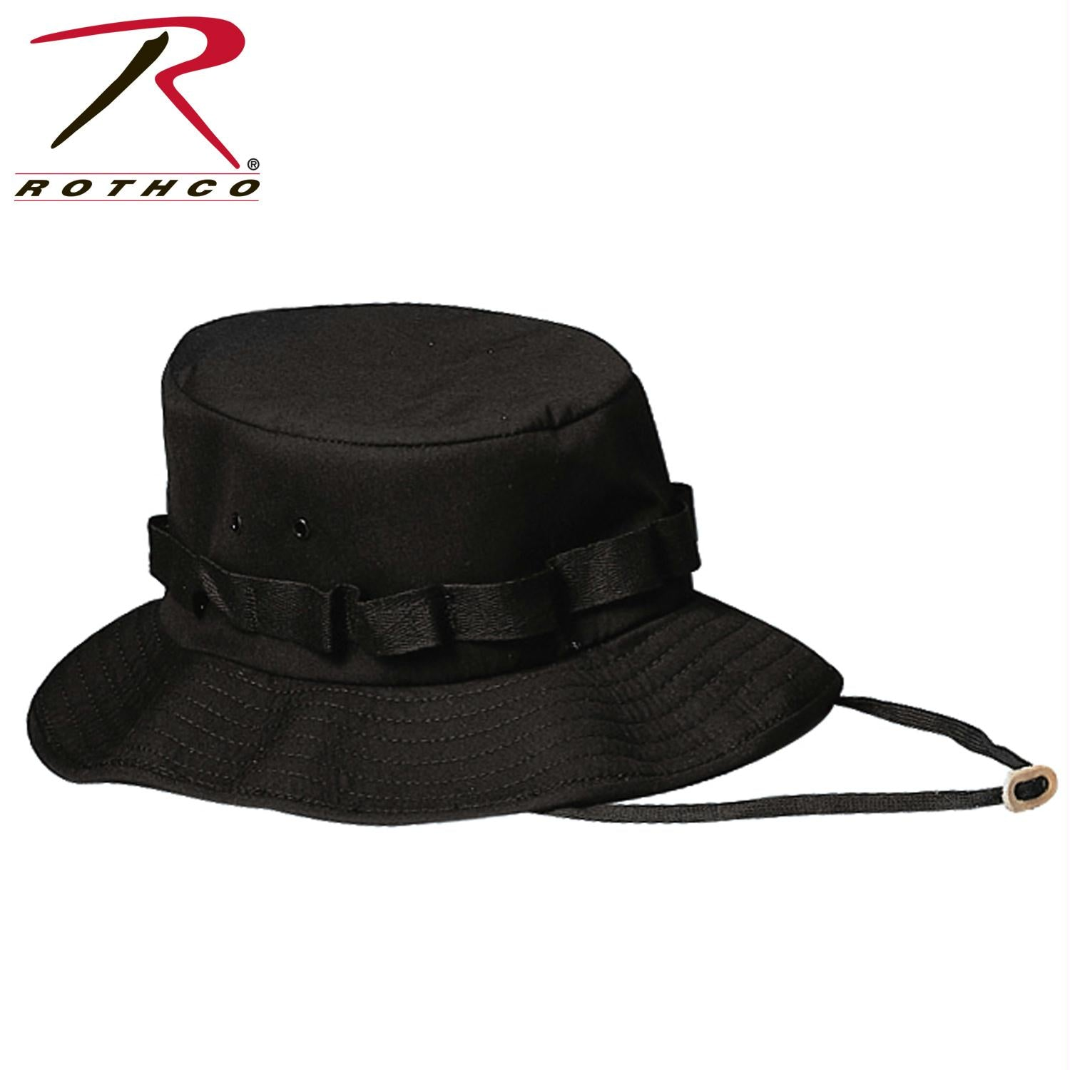 Rothco Jungle Hat - Black / S