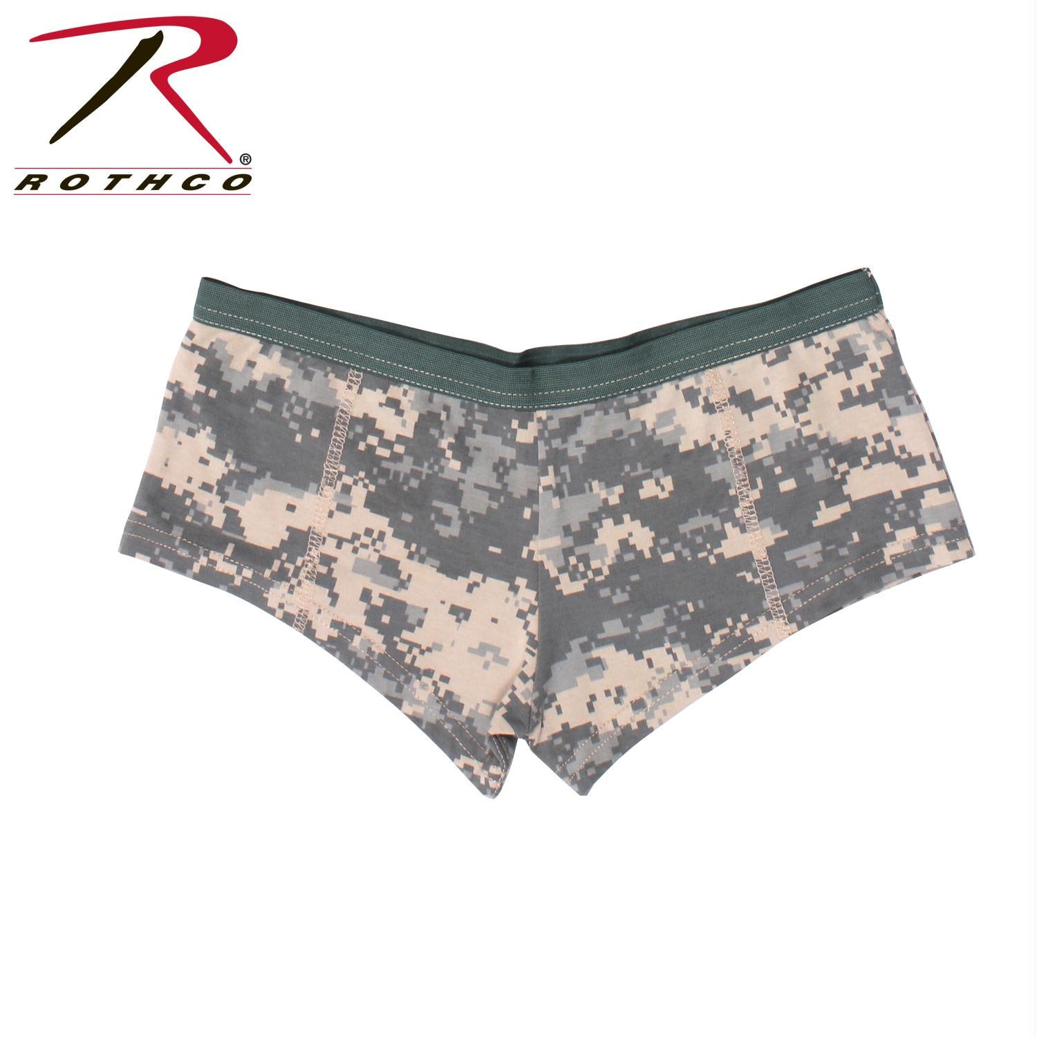 Rothco Womens ACU Digital Camo Booty Shorts - M