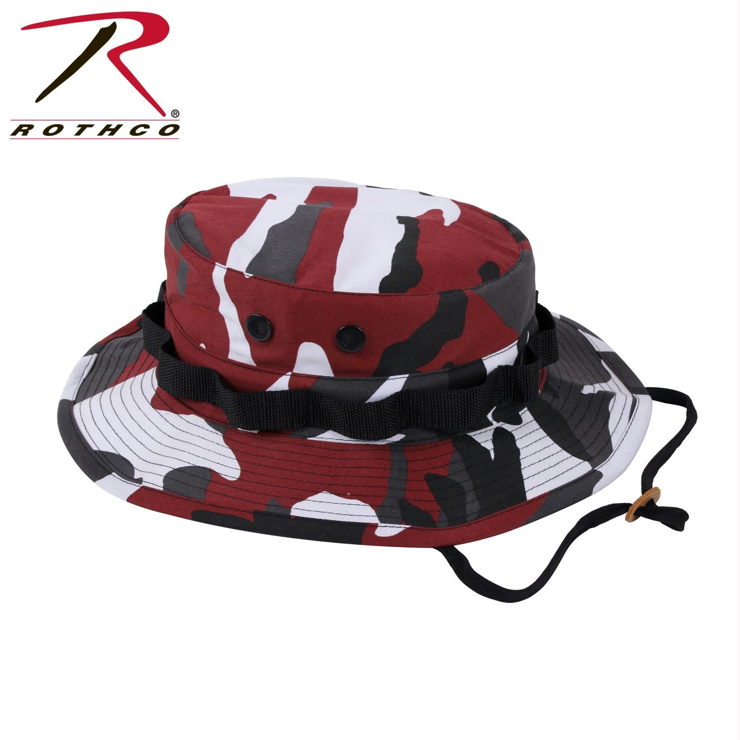 Rothco Camo Boonie Hat - Red Camo / 7 1/2
