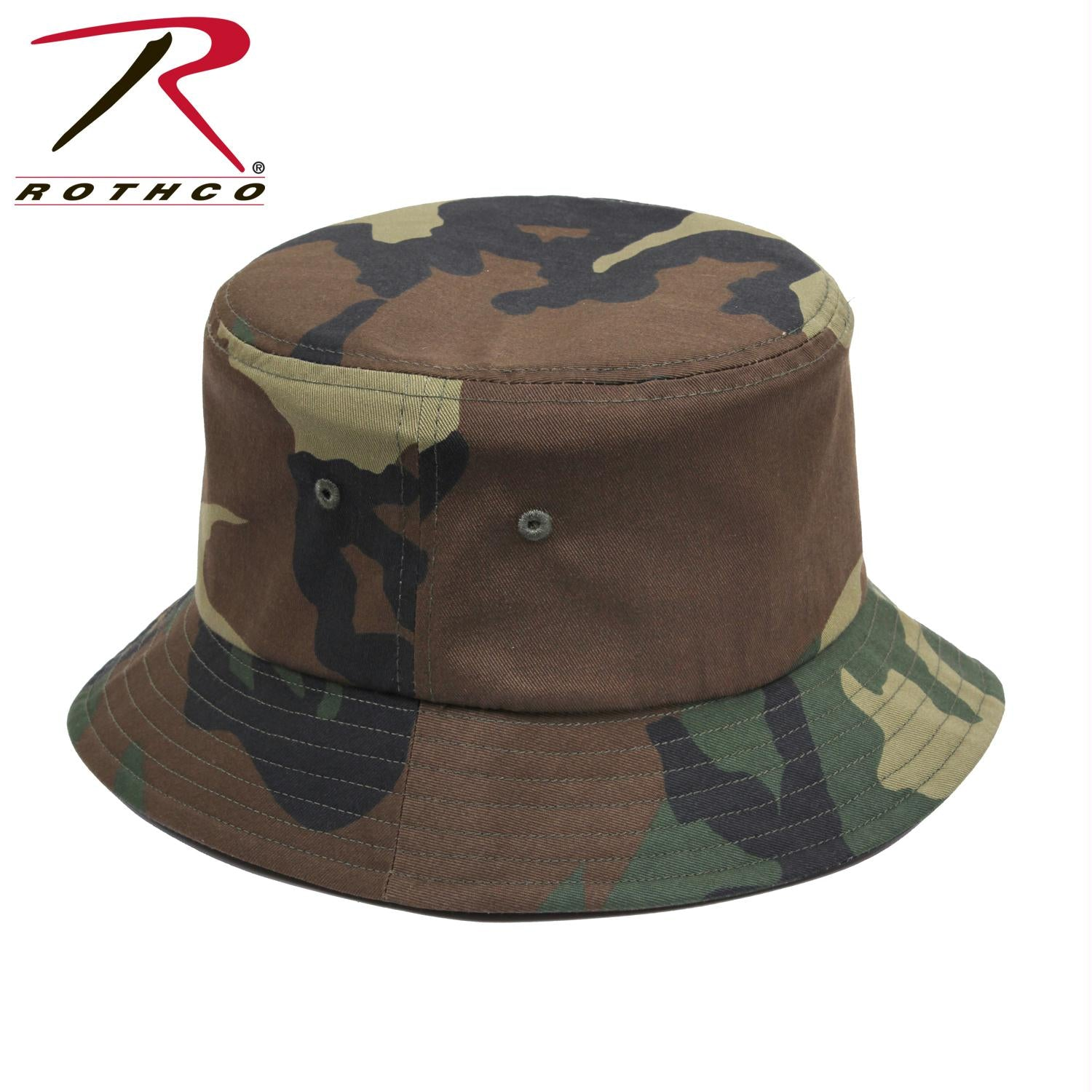 Rothco Bucket Hat - Woodland Camo / L/XL