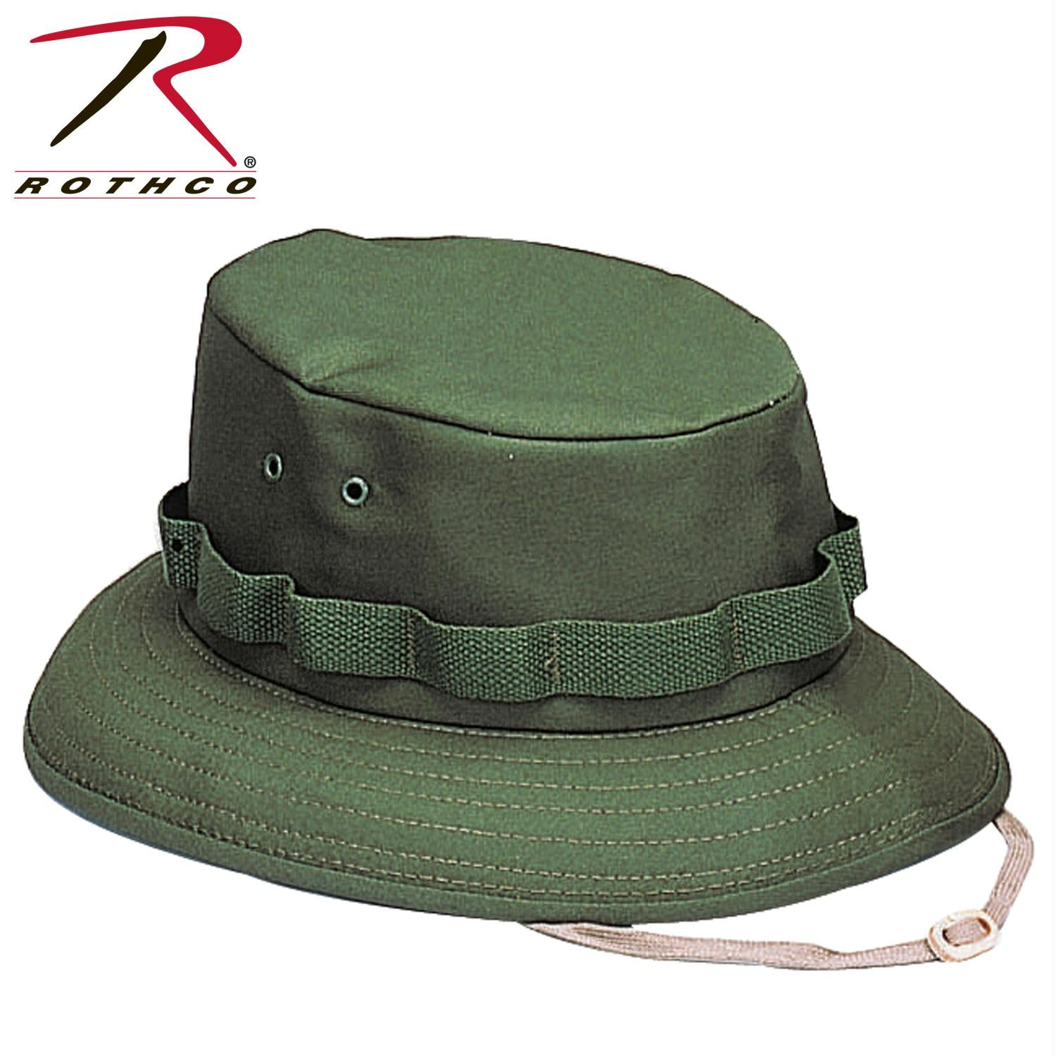 Rothco Jungle Hat - Olive Drab / M