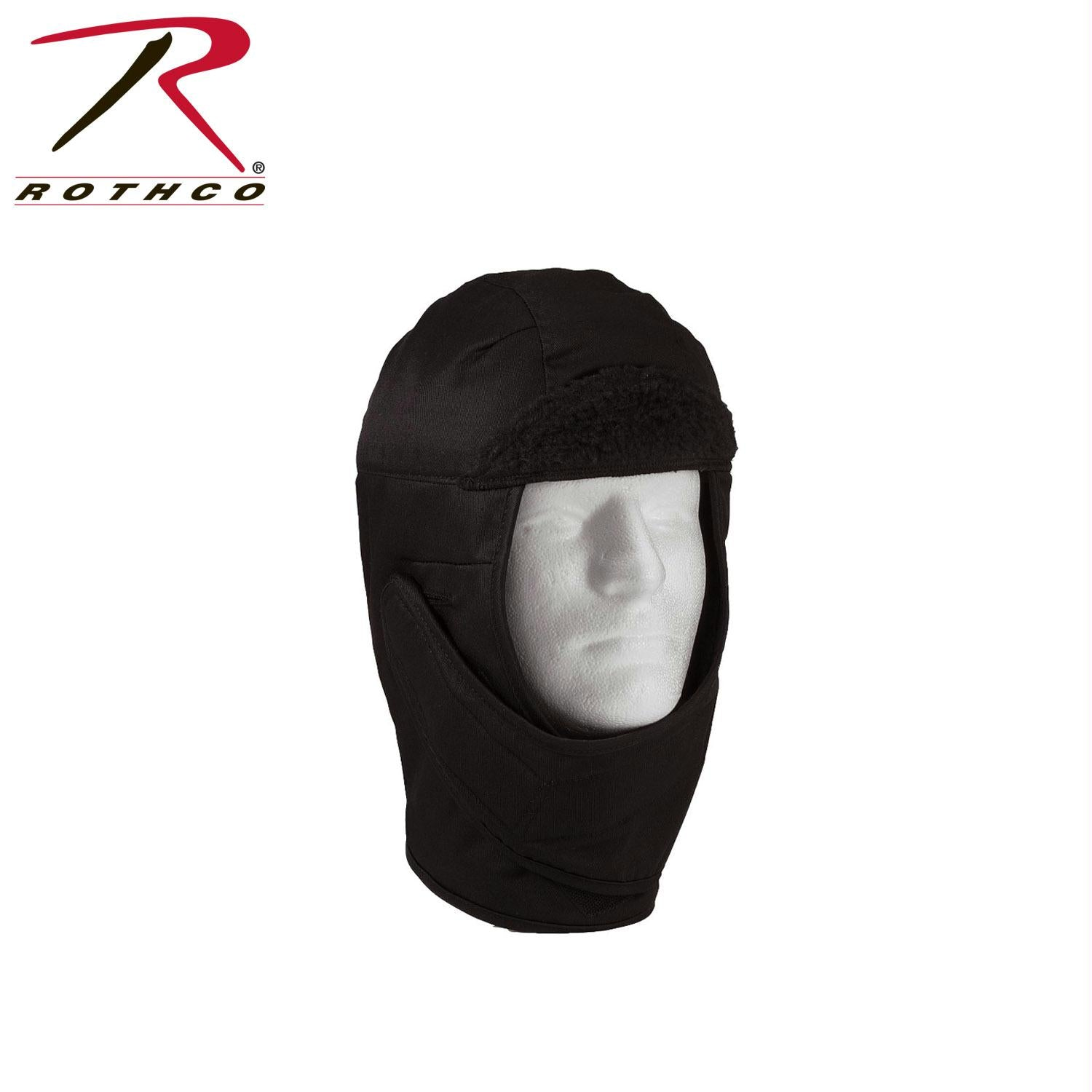 Rothco G.I. Style Cold Weather Helmet Liner - Black / 7 1/2