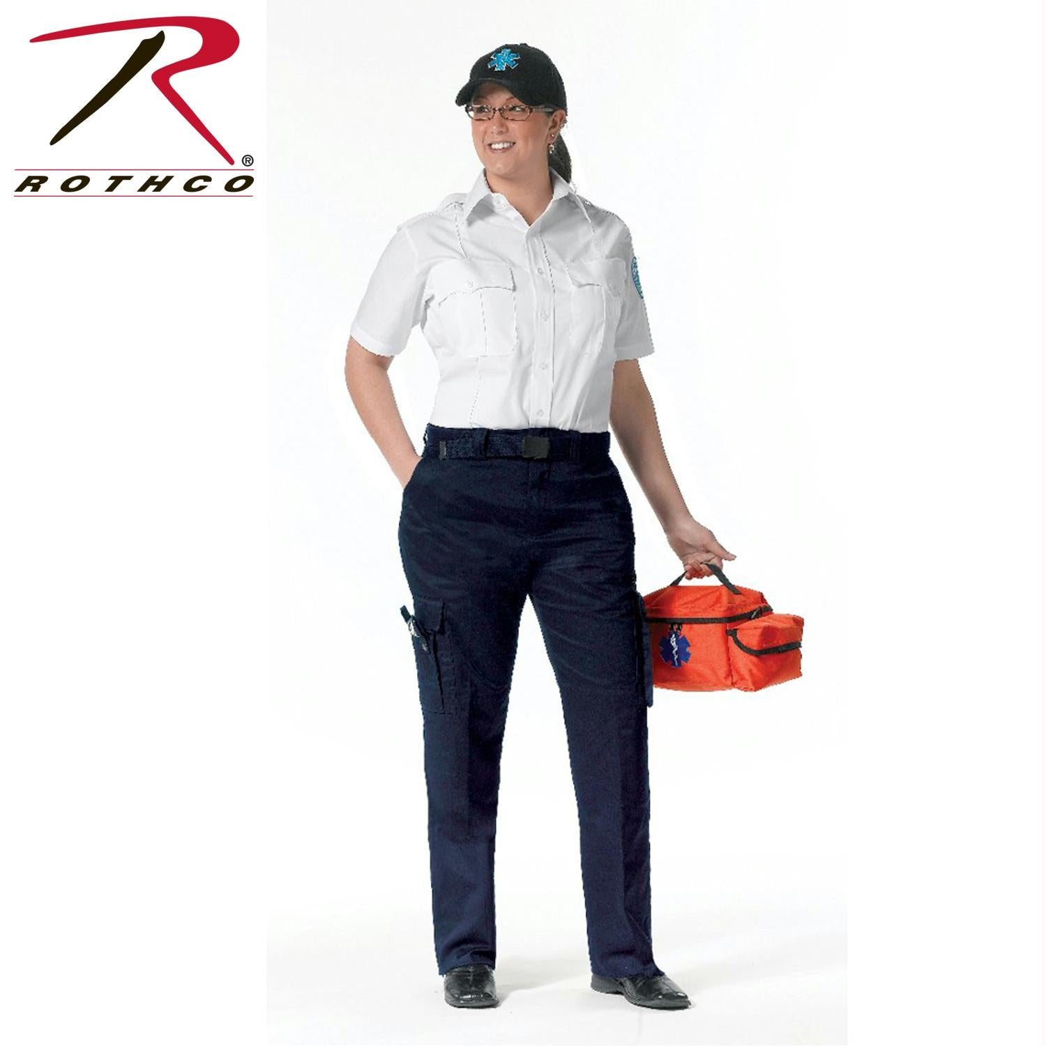 Rothco Women's EMT Pants - Navy Blue / 14