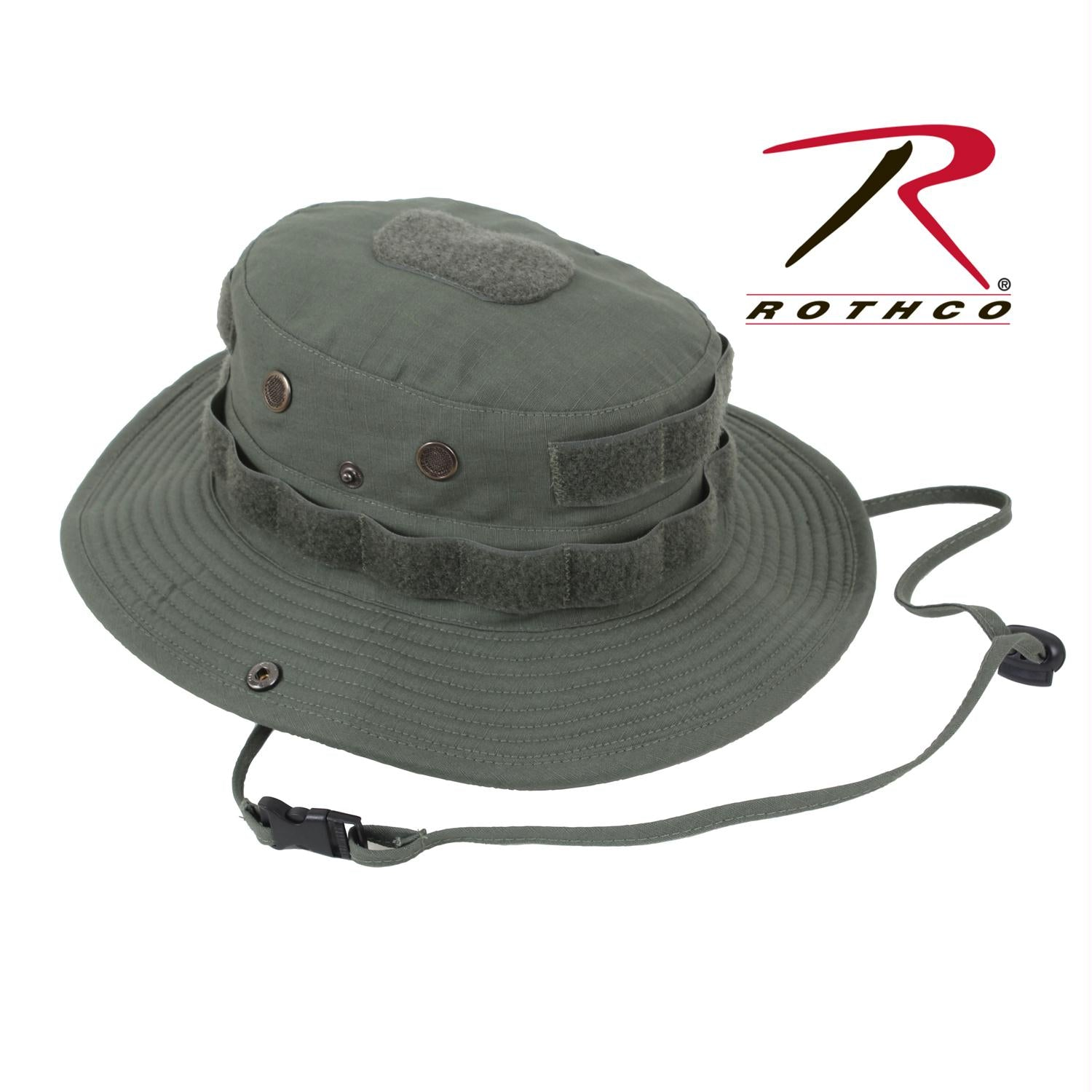 Rothco Tactical Boonie Hat - Olive Drab / 7 1/4