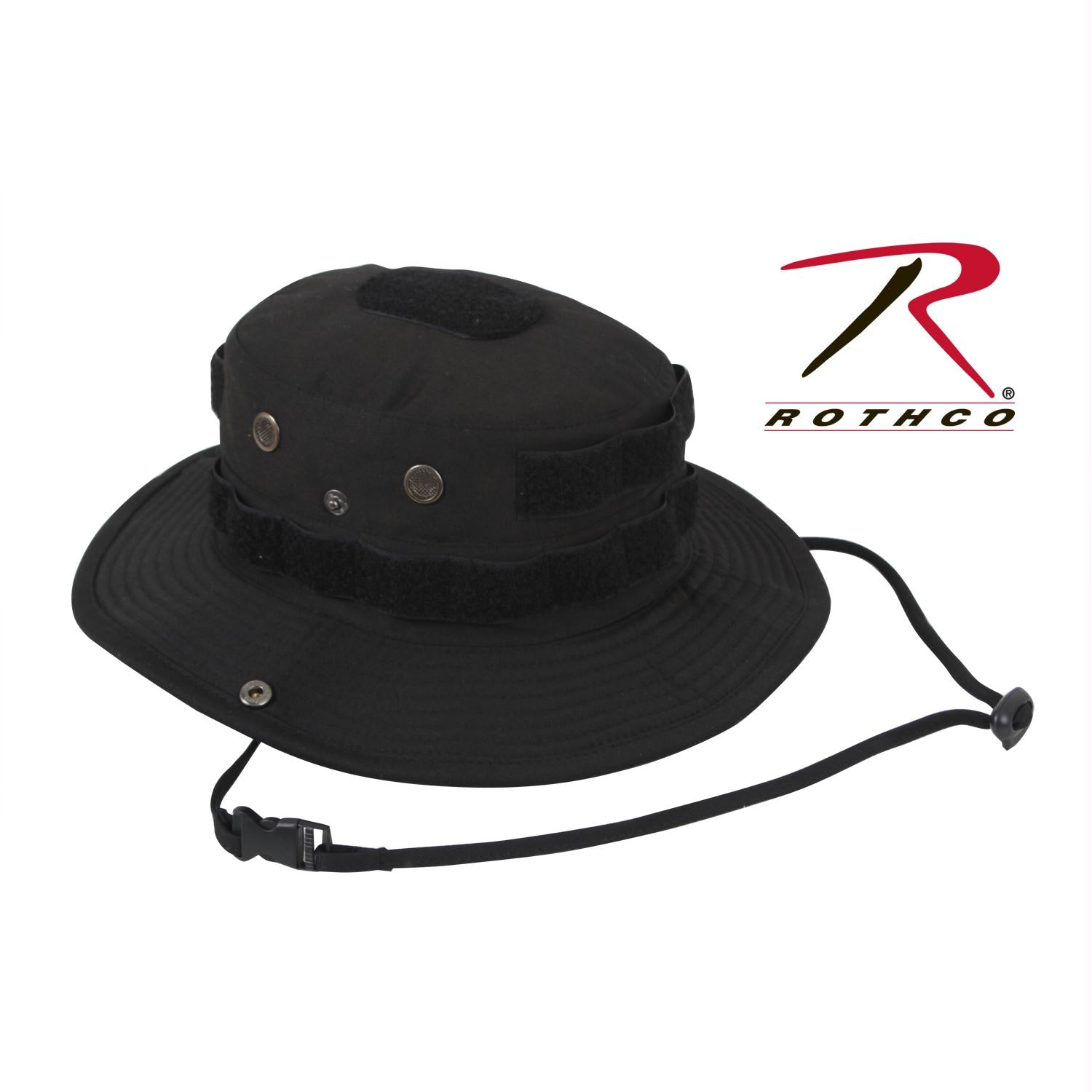 Rothco Tactical Boonie Hat - Black / 7 1/4