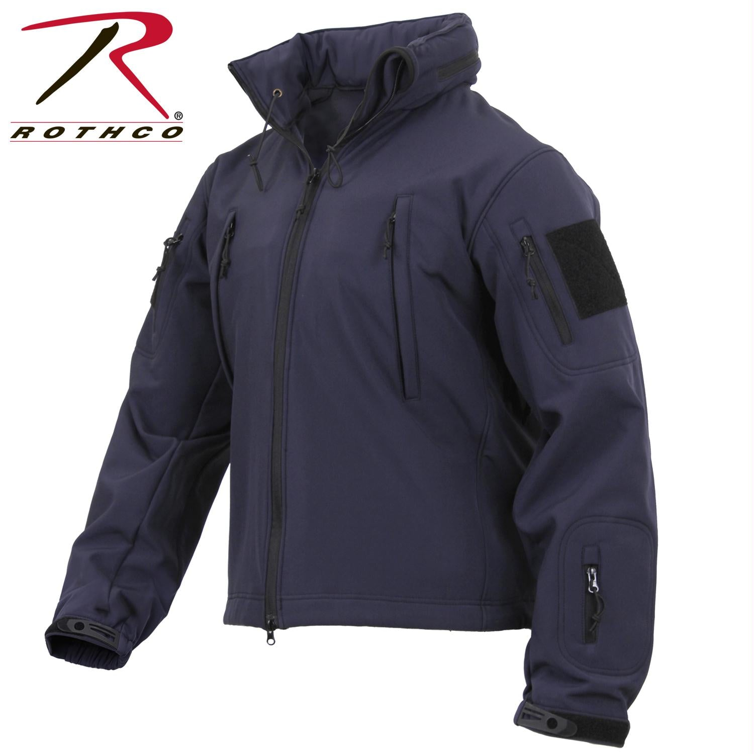 Rothco Concealed Carry Soft Shell Jacket - Midnight Navy Blue / S